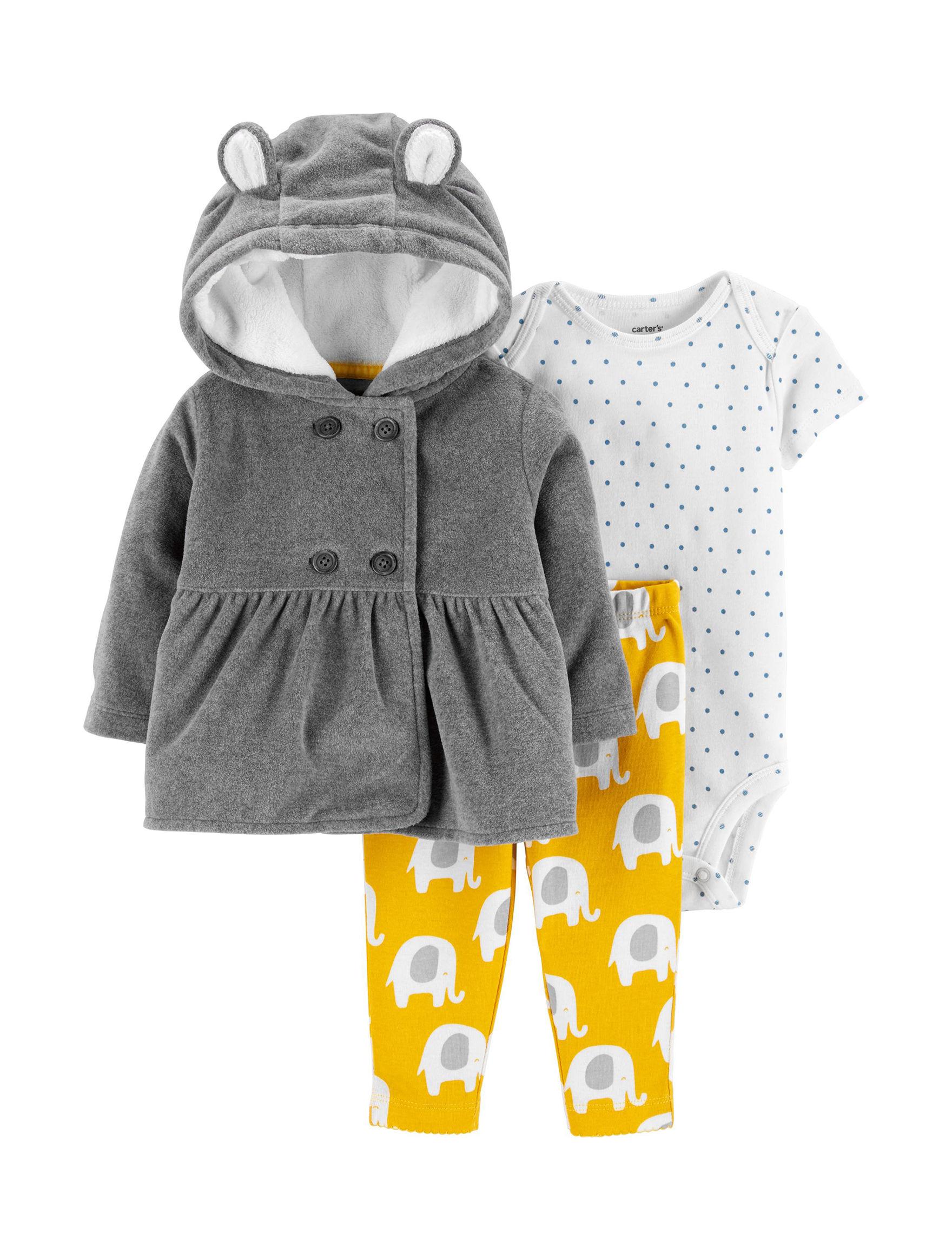 Carter's Grey / Yellow