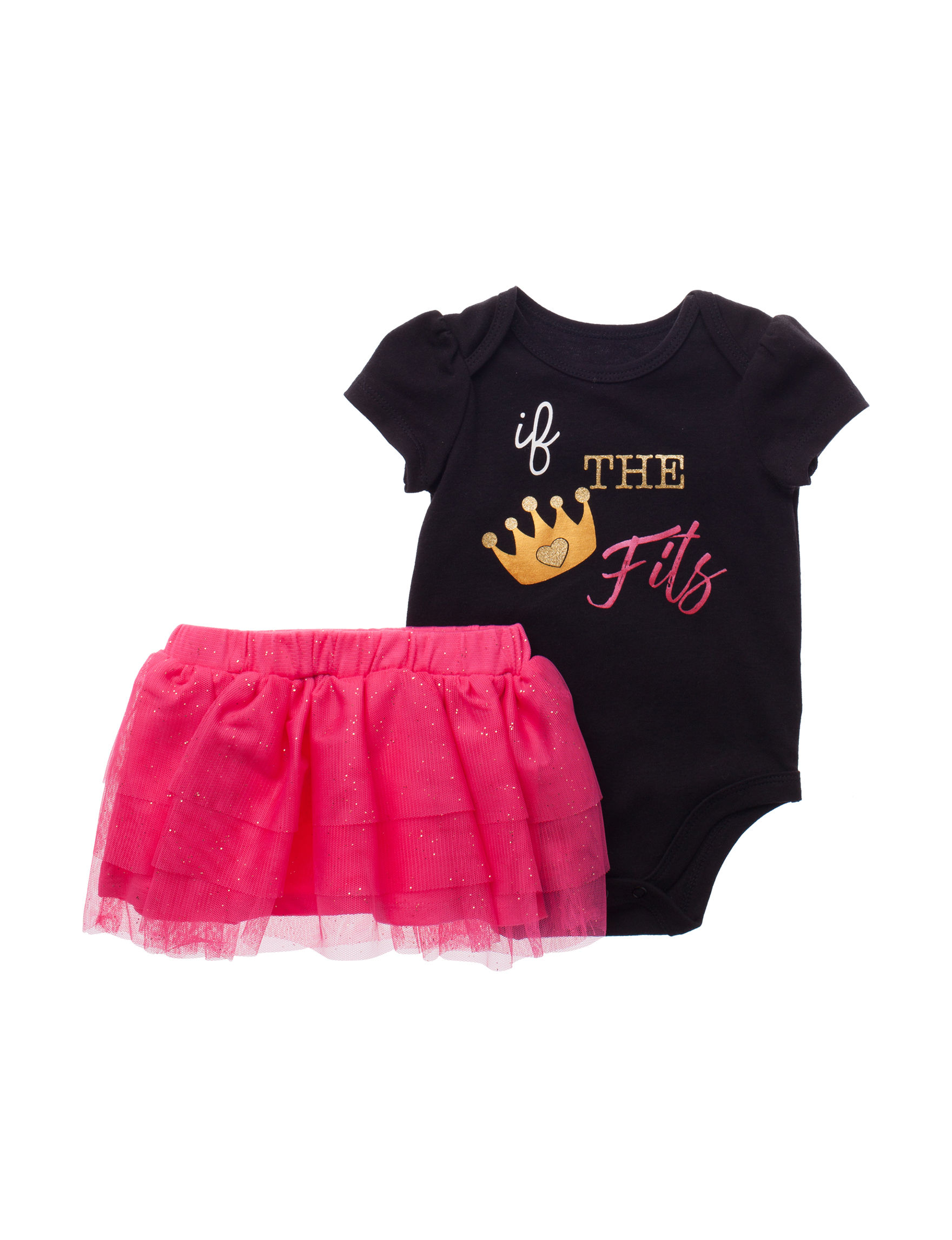 Baby Starters Black / Pink