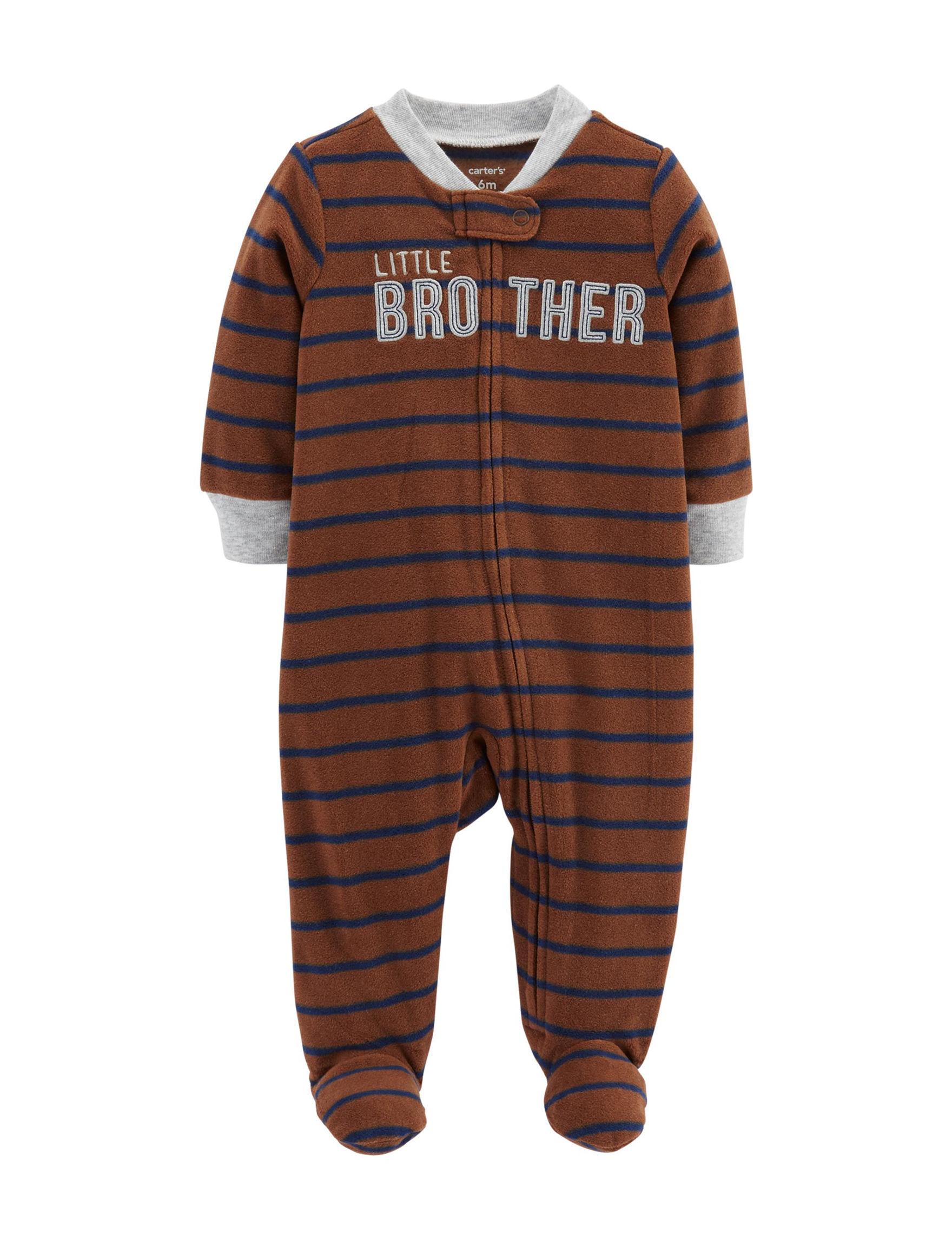 Carter's Brown Stripe