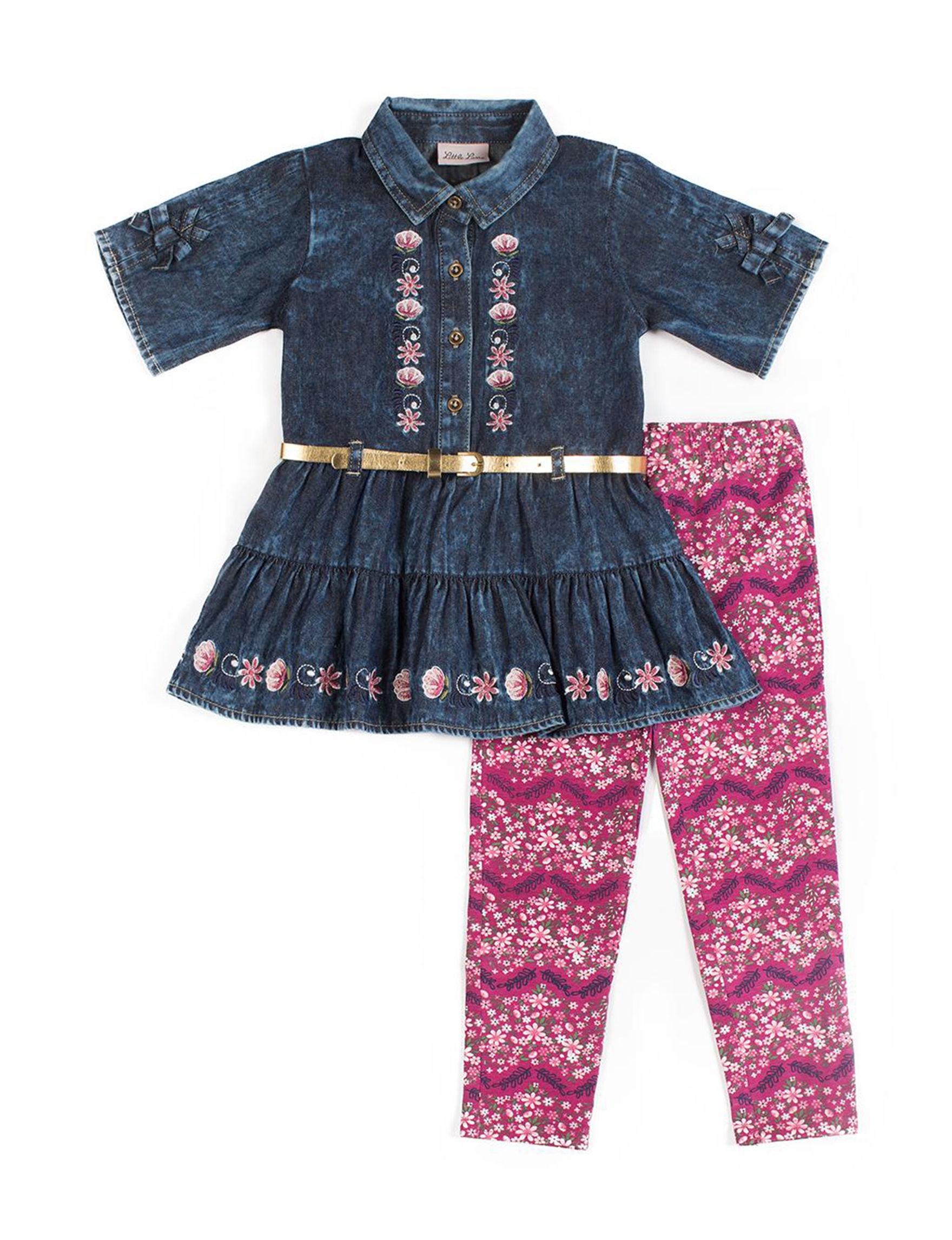 Little Lass Denim / Pink
