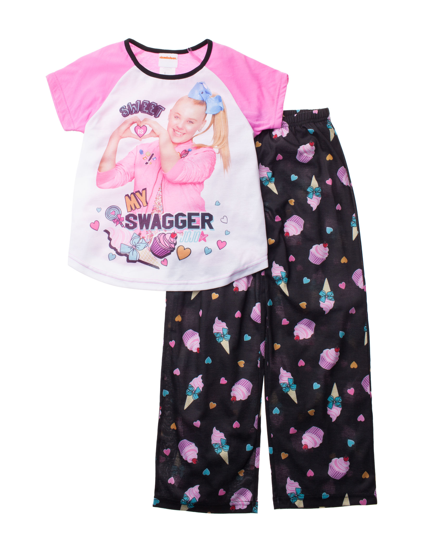 398b8f904 Nickelodeon 2-pc. Sweet is My Swagger Jojo Siwa Pajama Set - Girls 4 ...