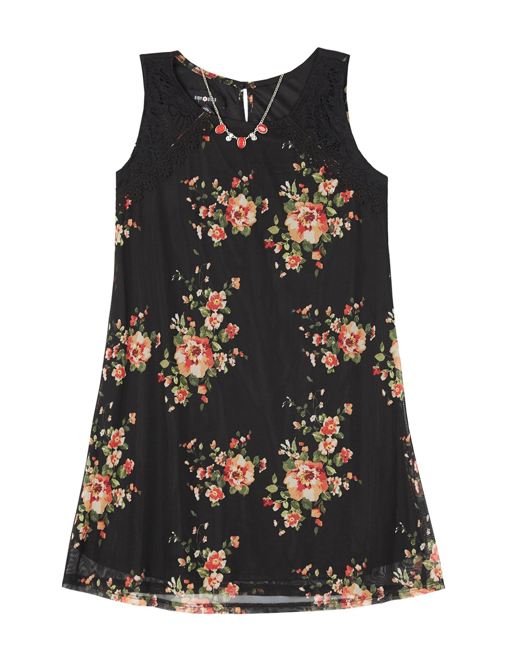 Amy Byer Black Floral