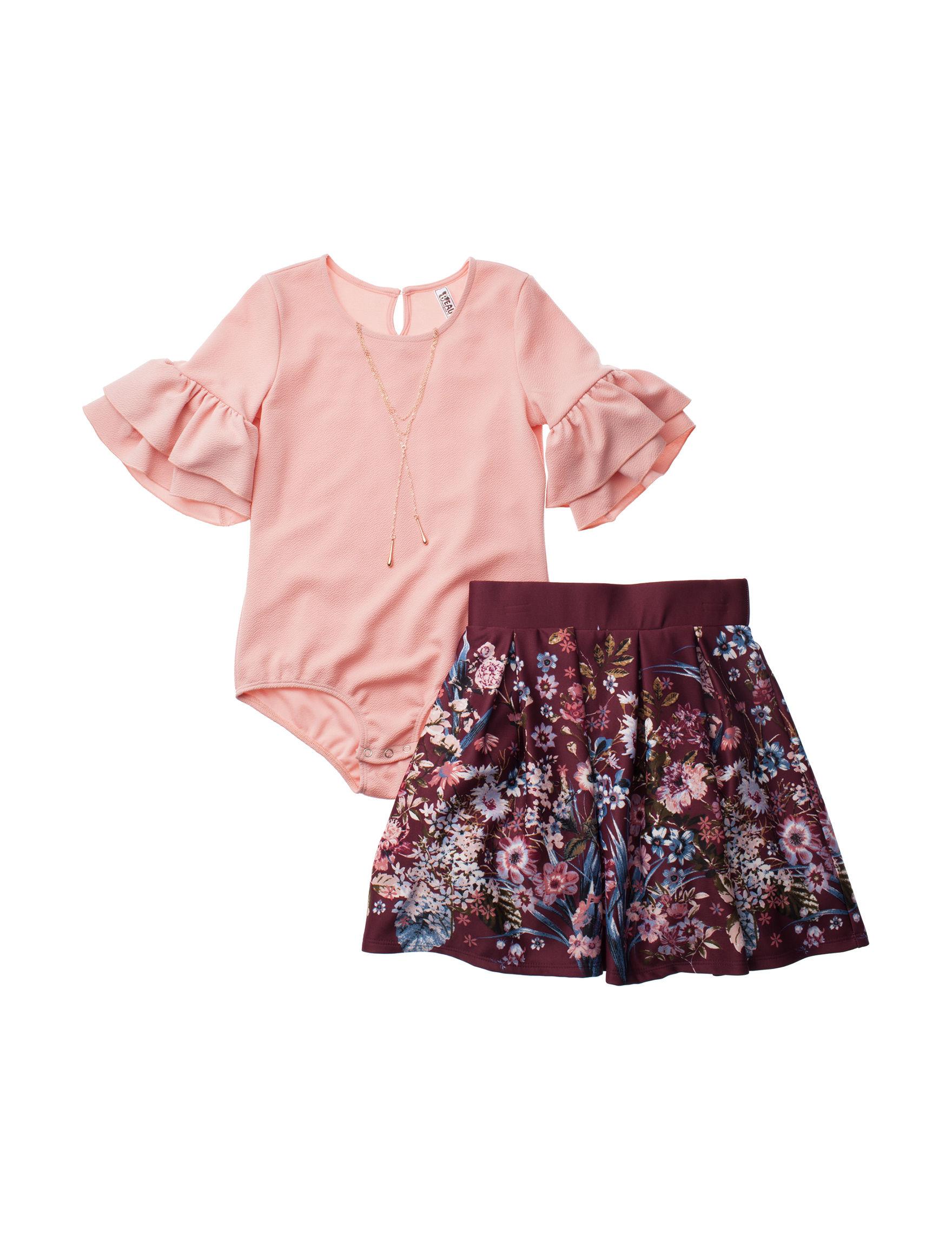 Beautees Pink / Burgundy