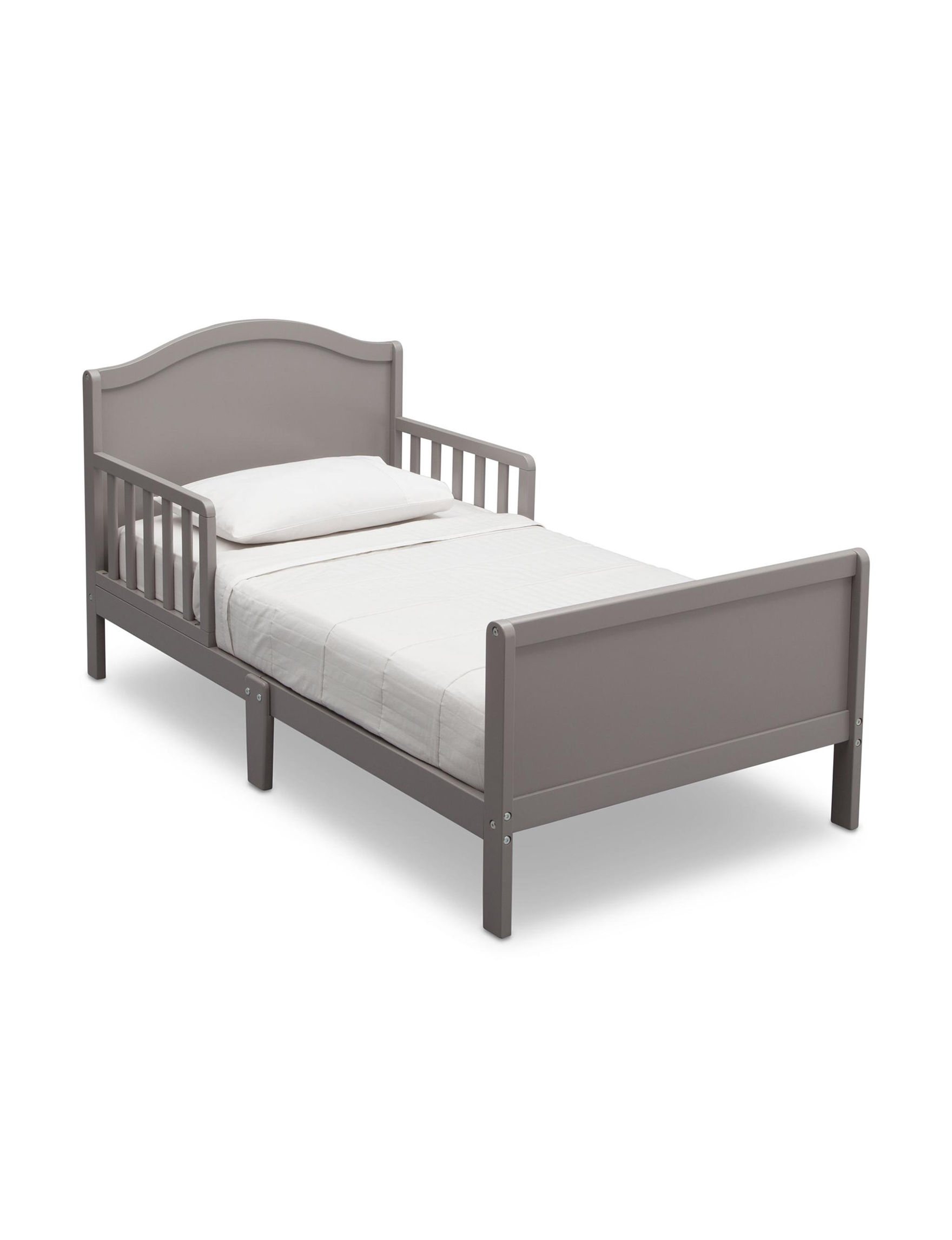 Delta Grey Beds & Headboards