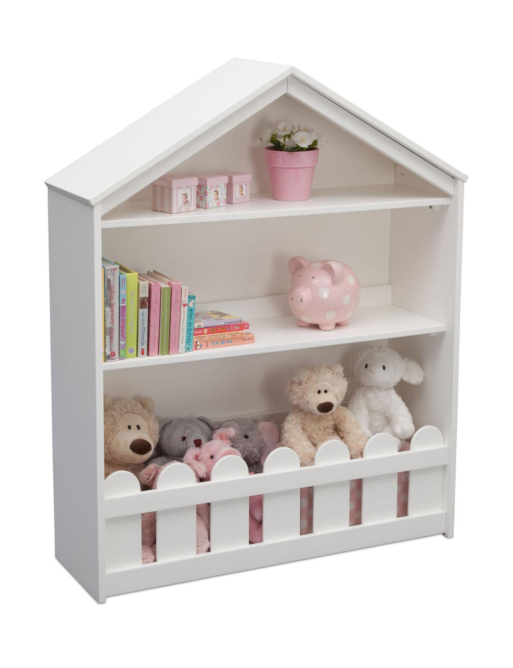 Serta White Bookcases & Shelves Living Room Furniture