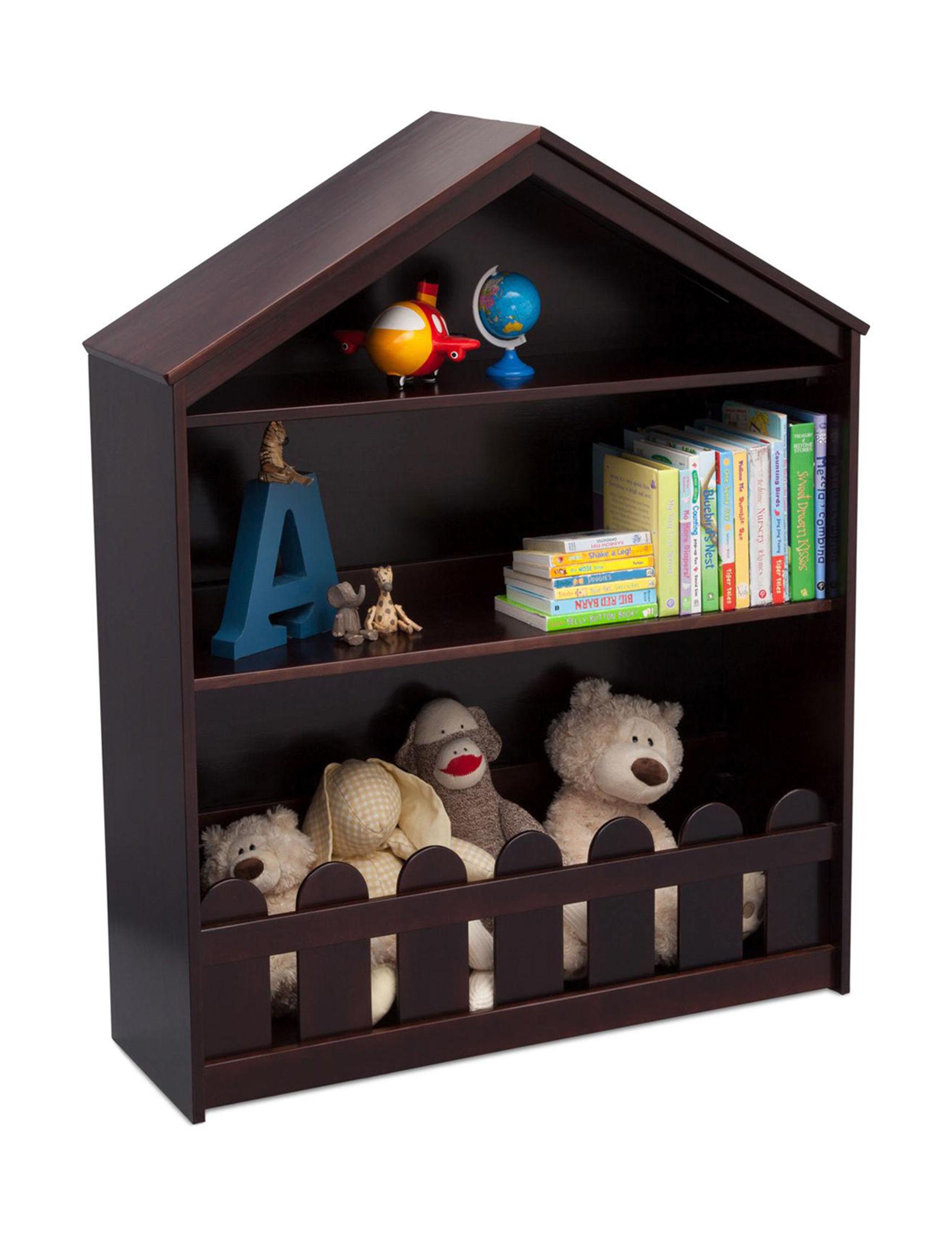 Serta Dark Chocolate Bookcases & Shelves Living Room Furniture