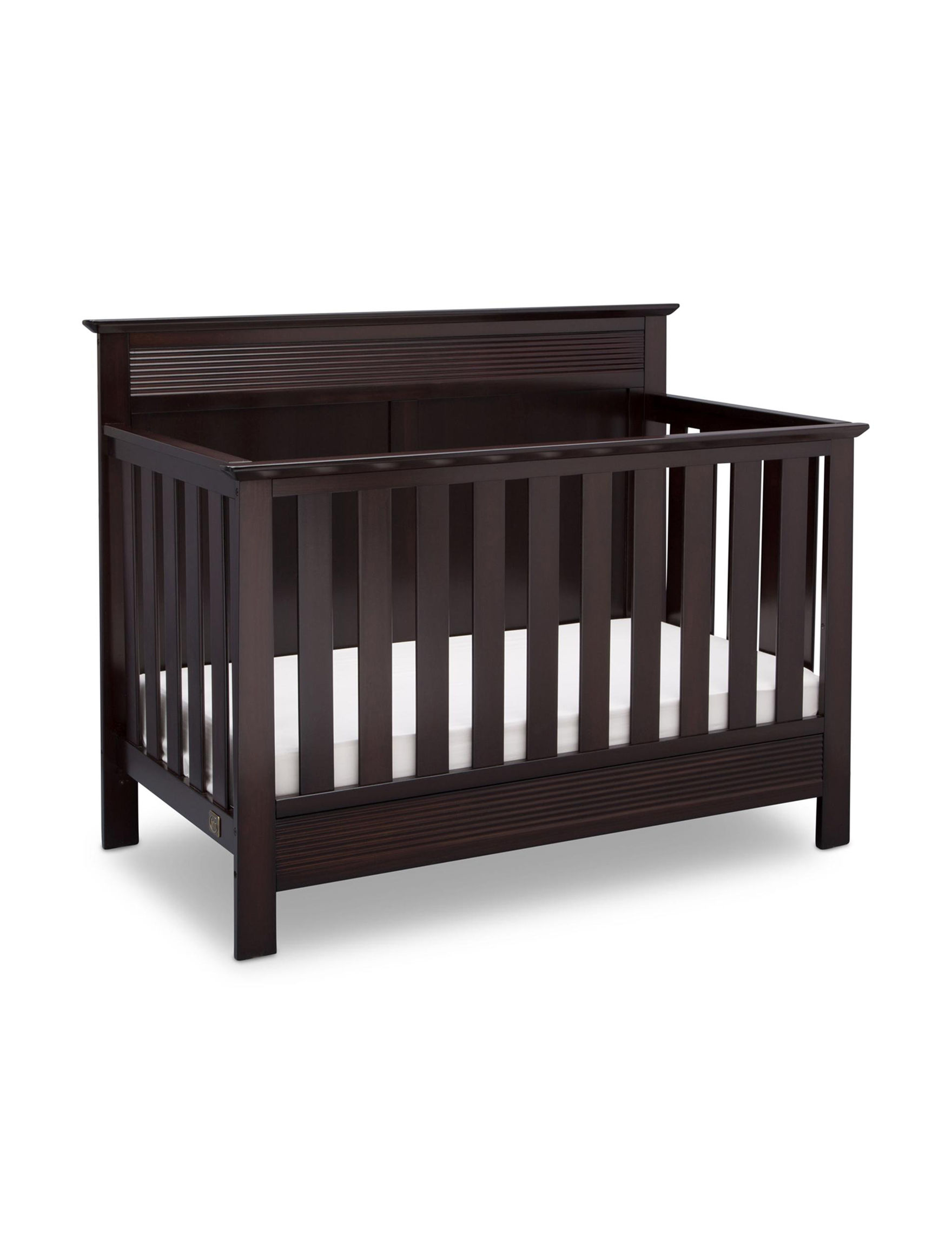 Serta Dark Chocolate Cribs Bedroom Furniture