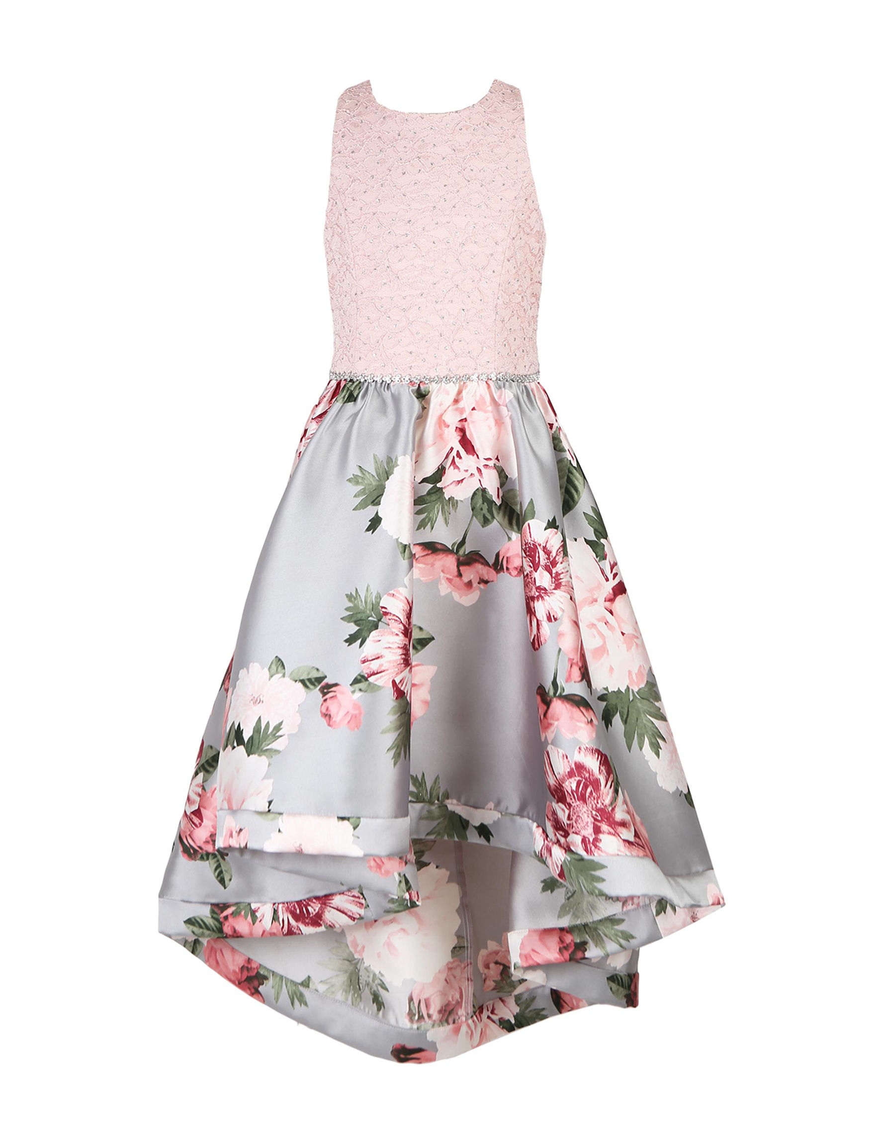 be198c02f6c6c Speechless Lace Floral High-Low Dress - Girls 7-16 | Stage Stores