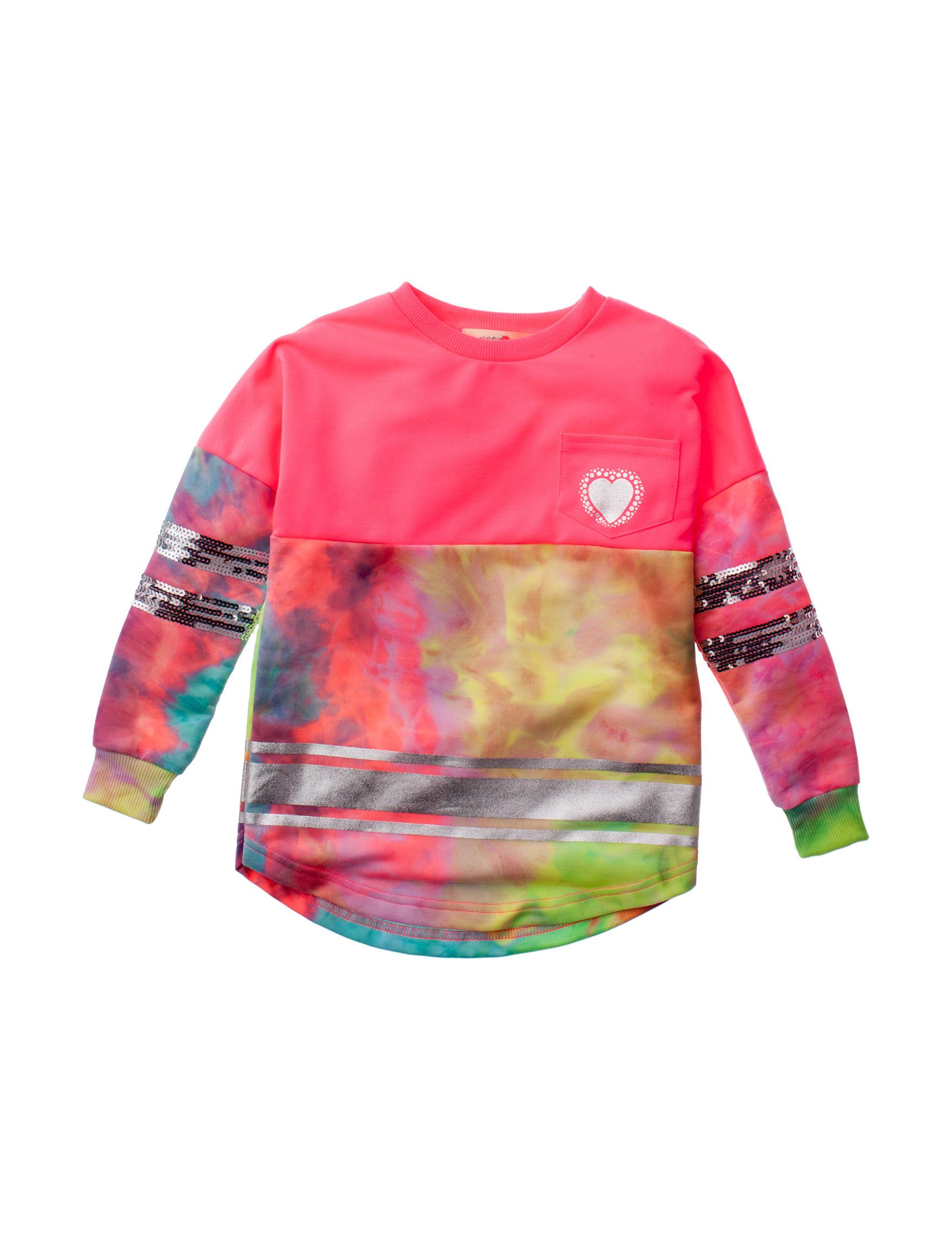 Wishful Park Pink / Tie Dye Tees & Tanks
