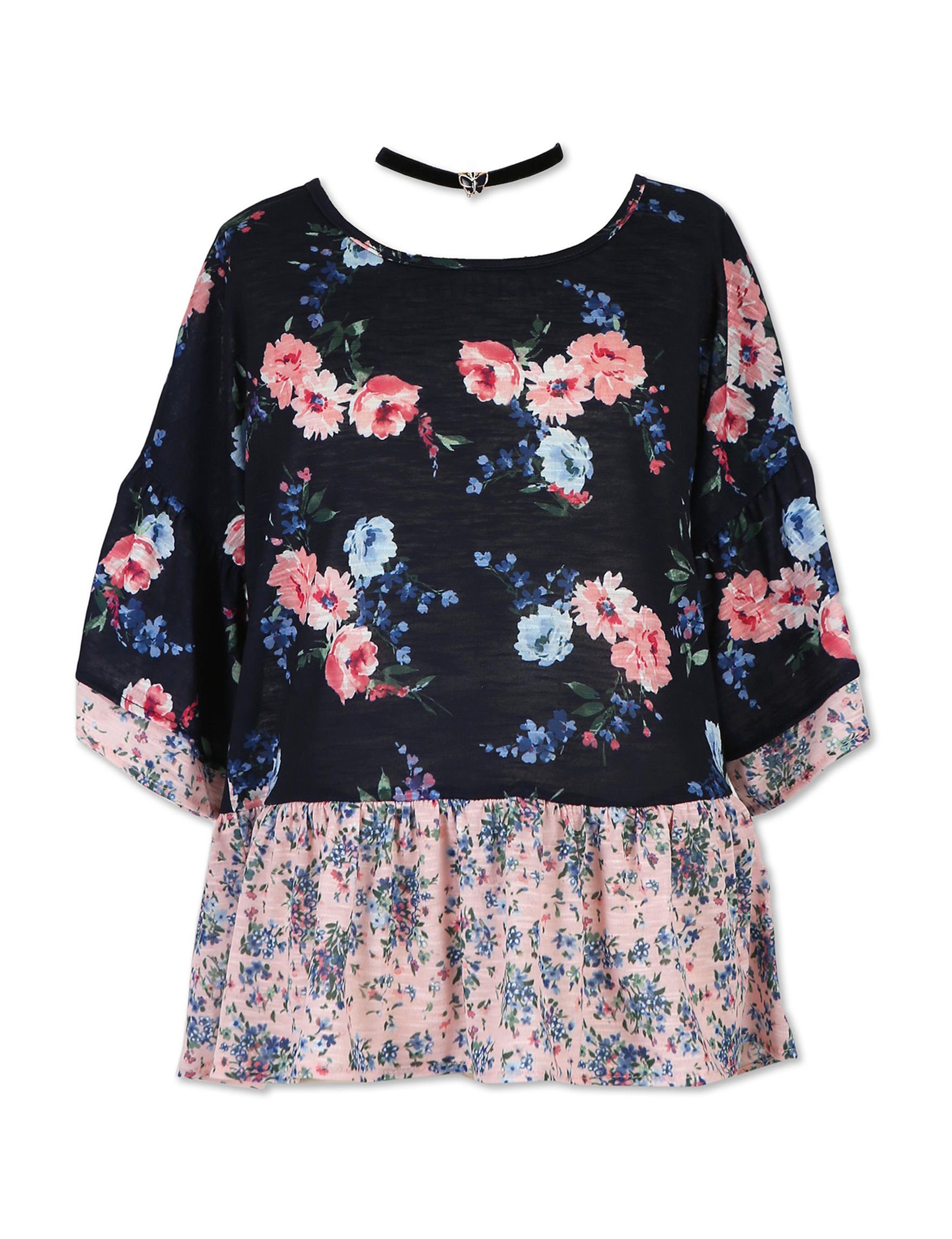 Speechless Navy Floral