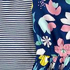 Stripe / Floral