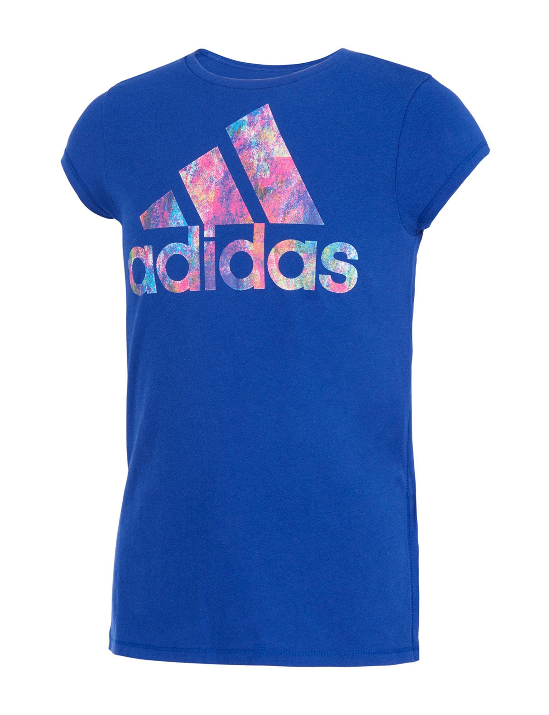 Adidas Ink Blue Tees & Tanks