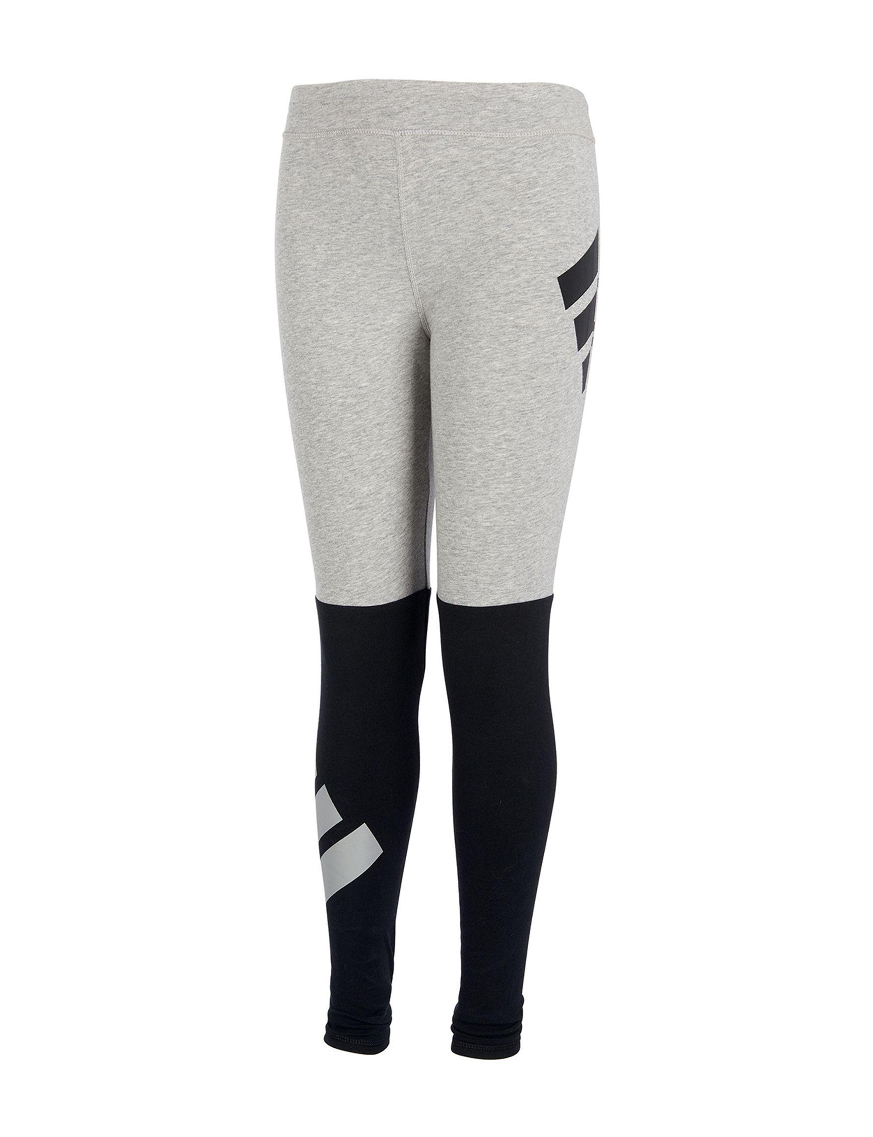 Adidas Heather Grey Leggings