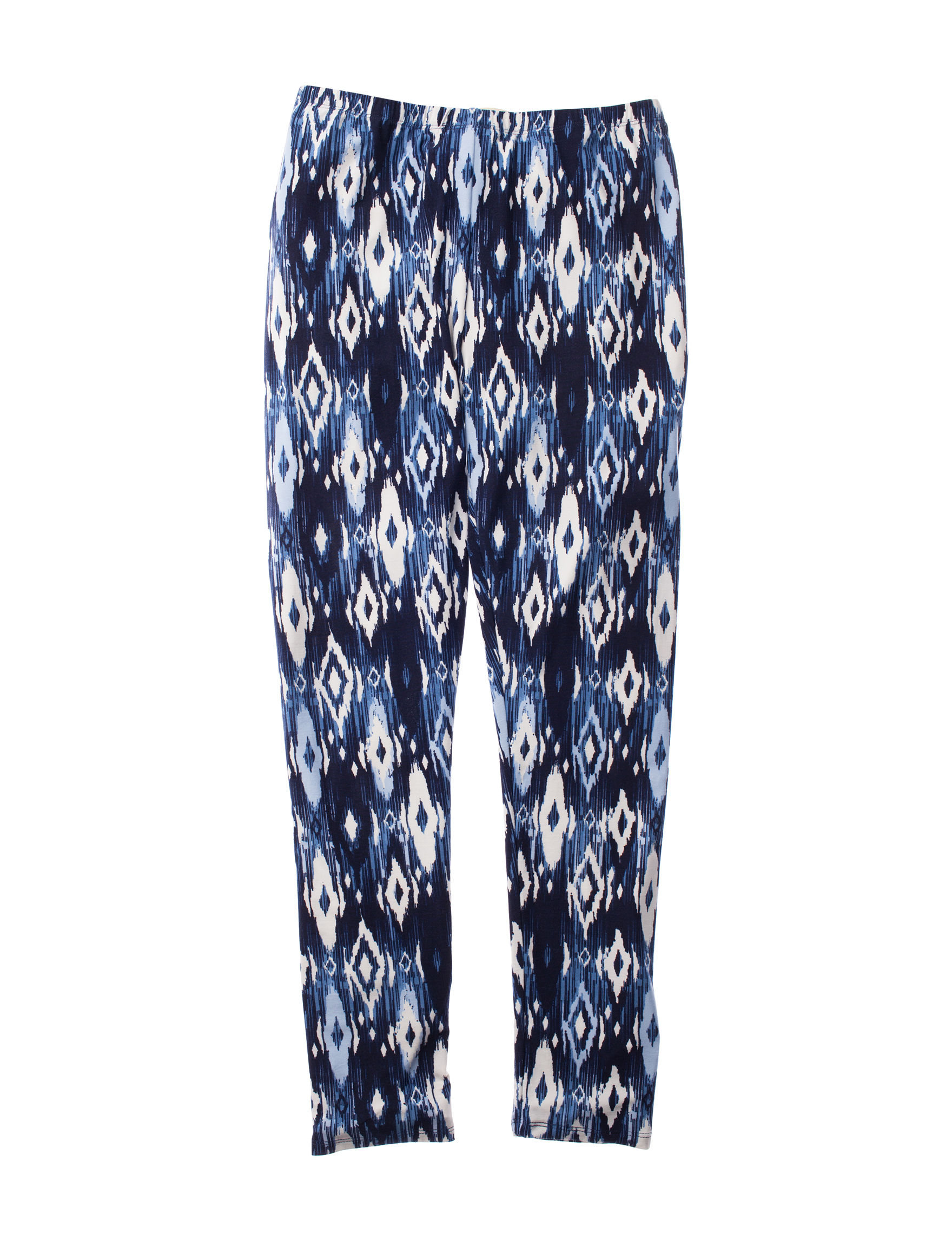 One Step Up Blue Multi Leggings
