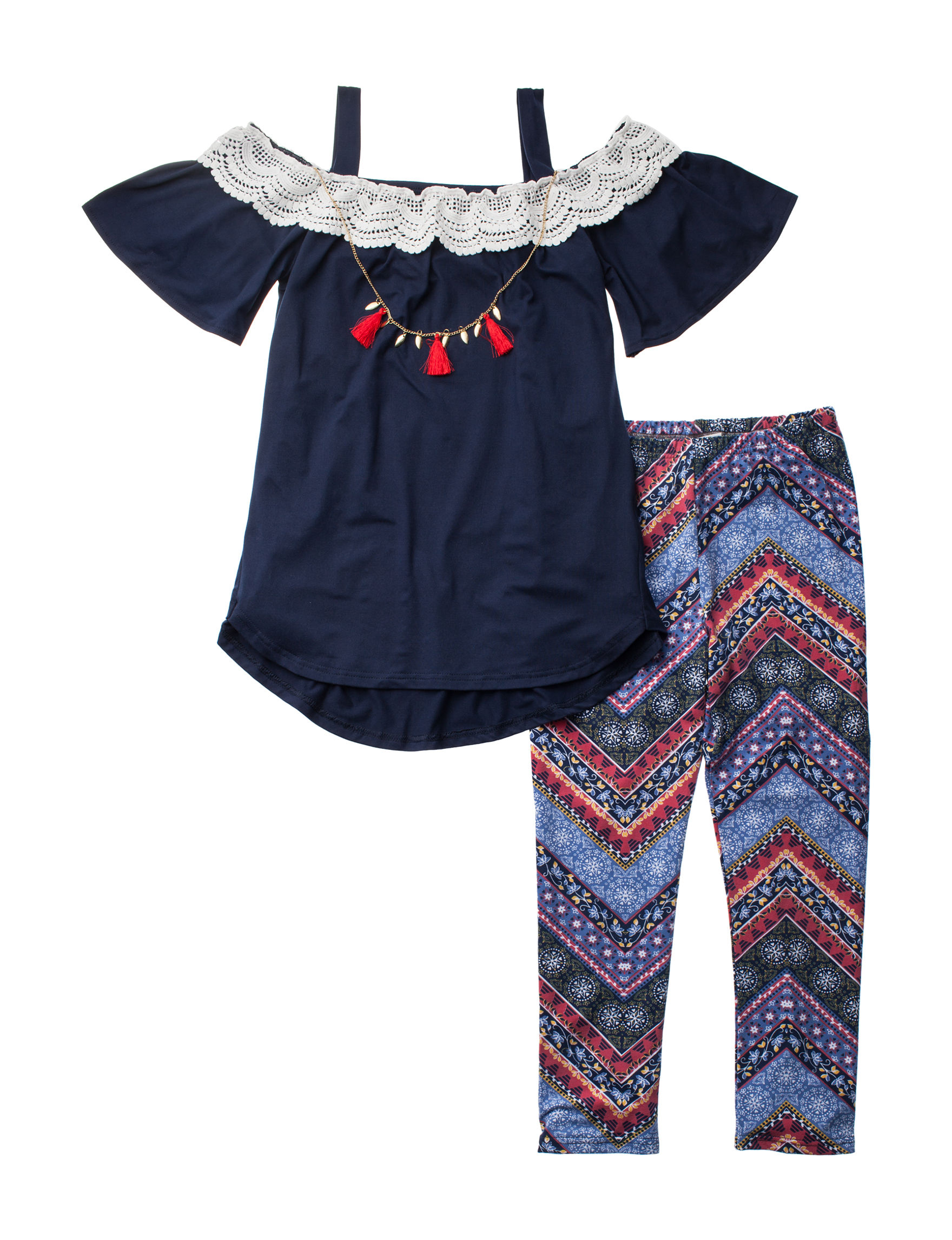 One Step Up Navy / Multi