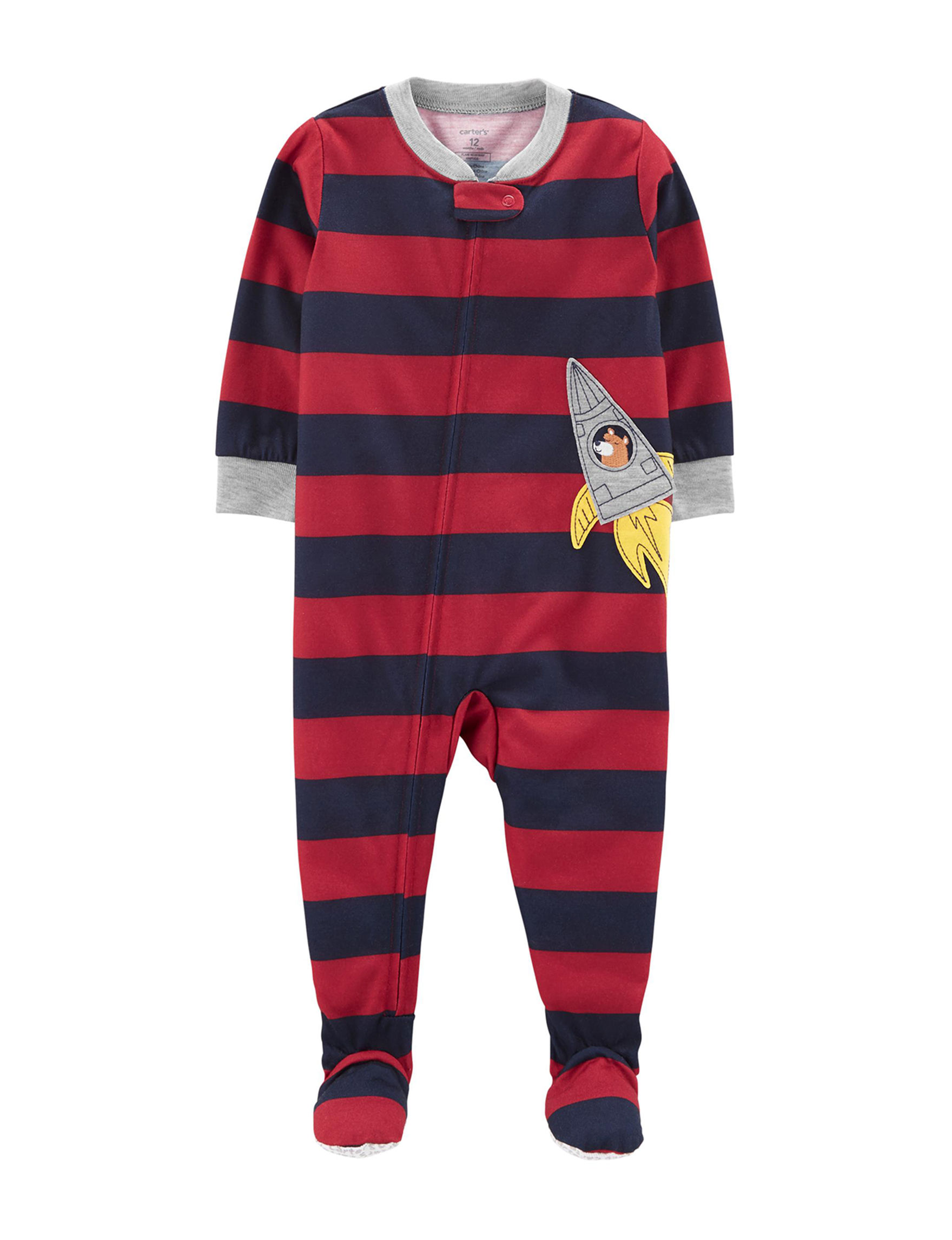 Carter's Red Stripe Pajama Sets