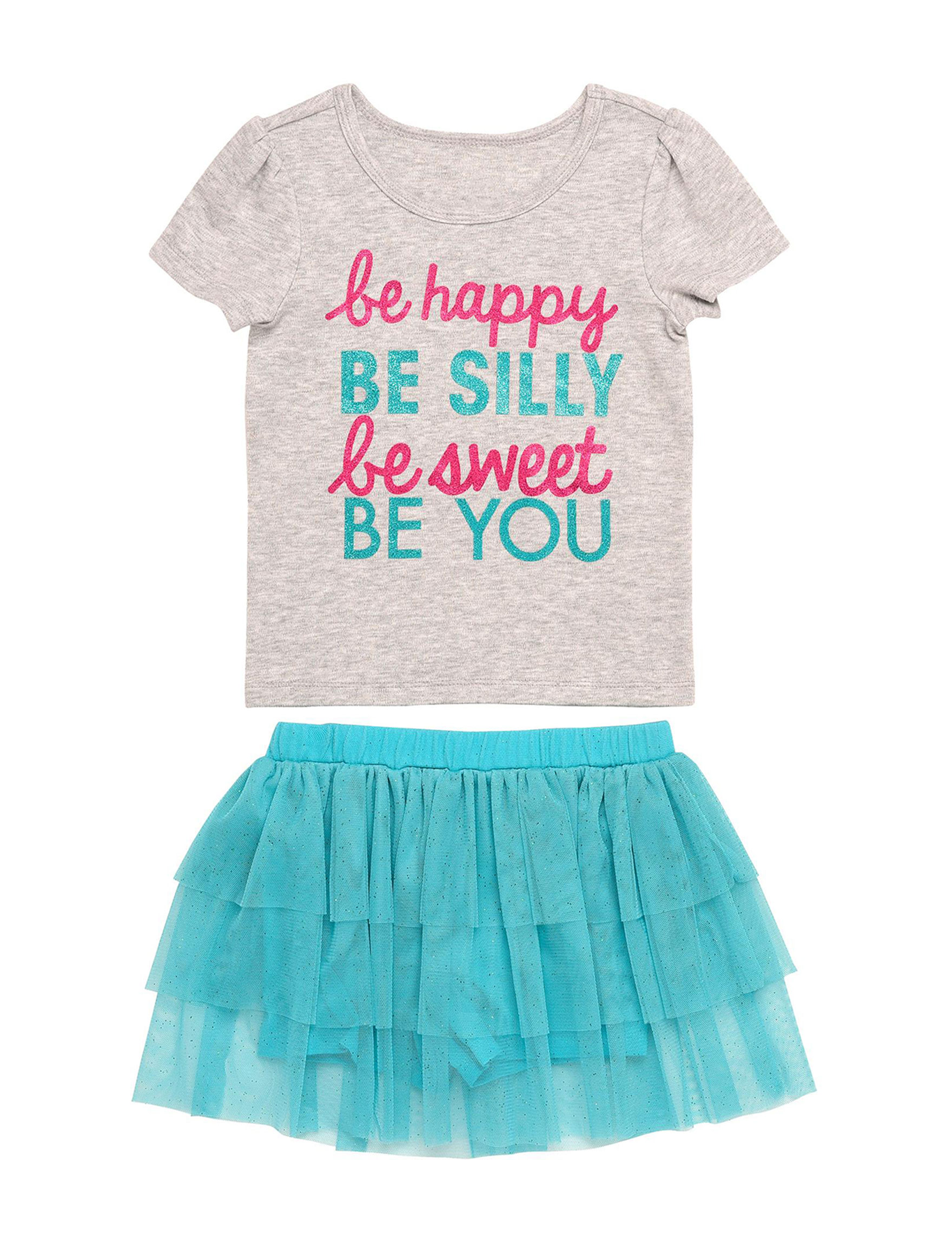 Babies With Attitude Turquoise / Grey