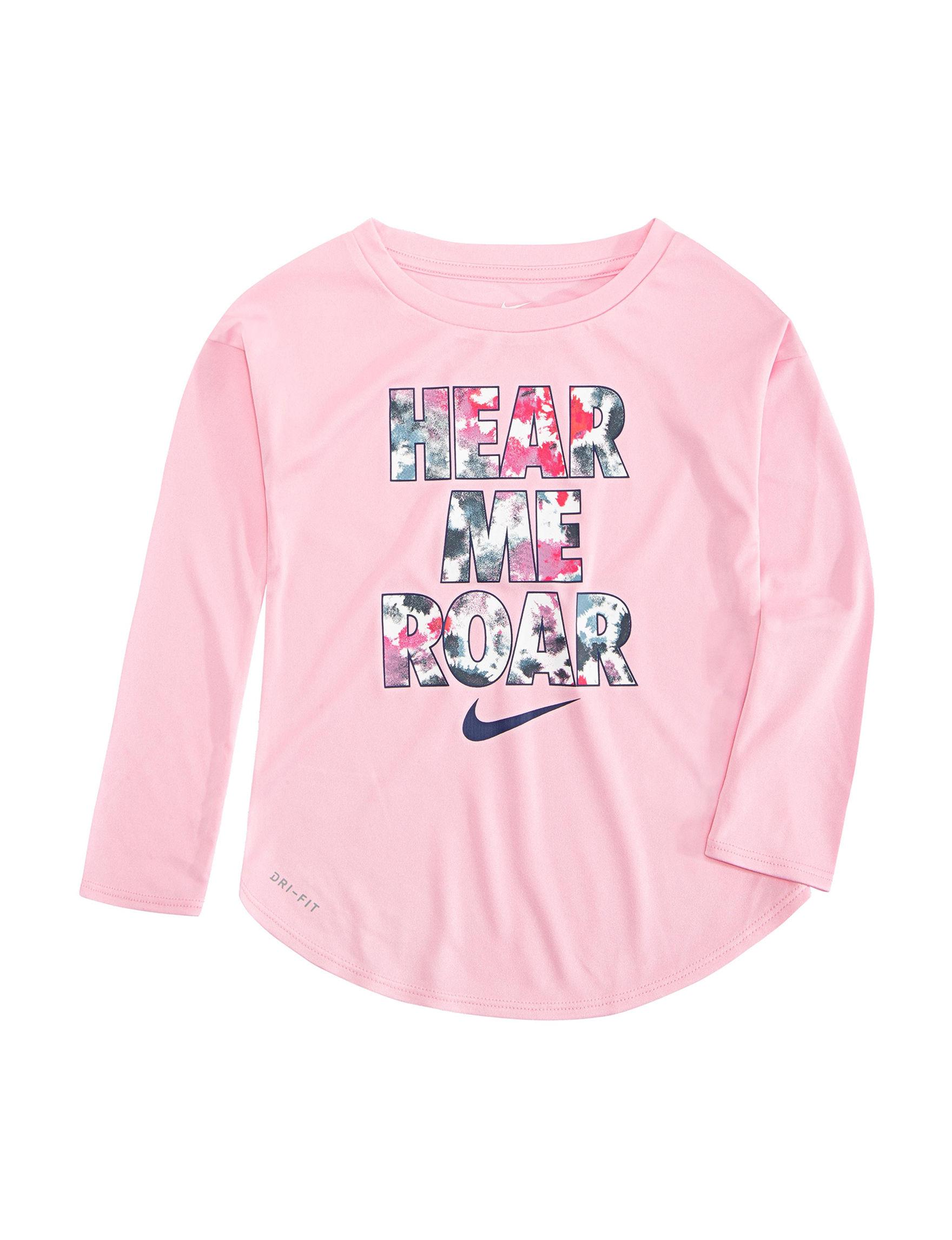 Nike Pink Tees & Tanks