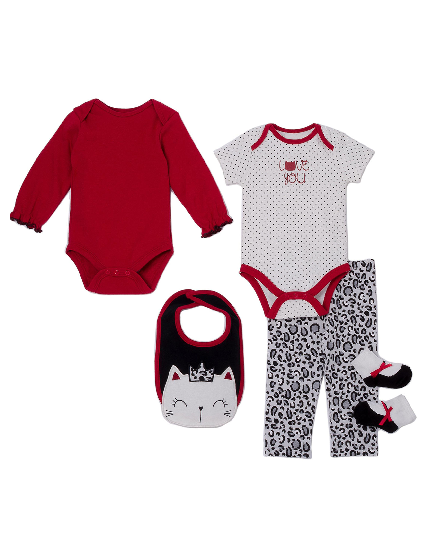 Baby Gear Red Multi