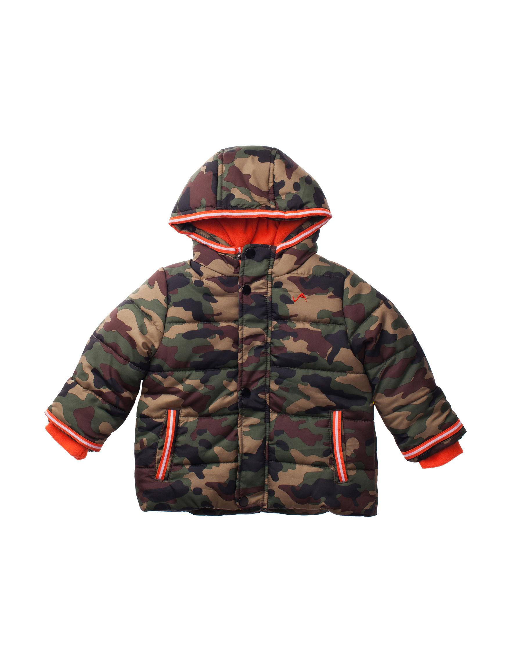 Vertical 9 Green Camo Fleece & Soft Shell Jackets