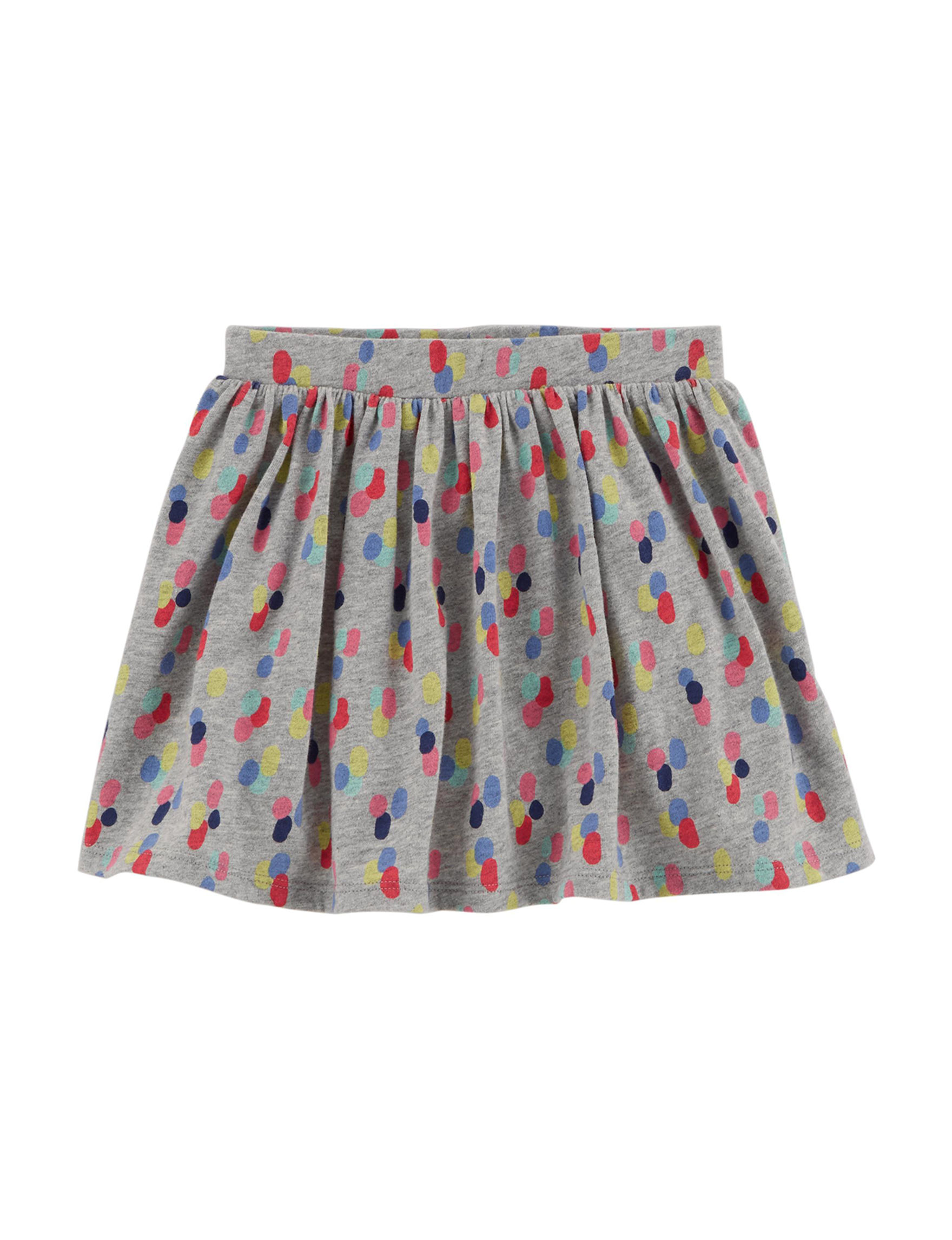Carter's Grey Multi Skorts