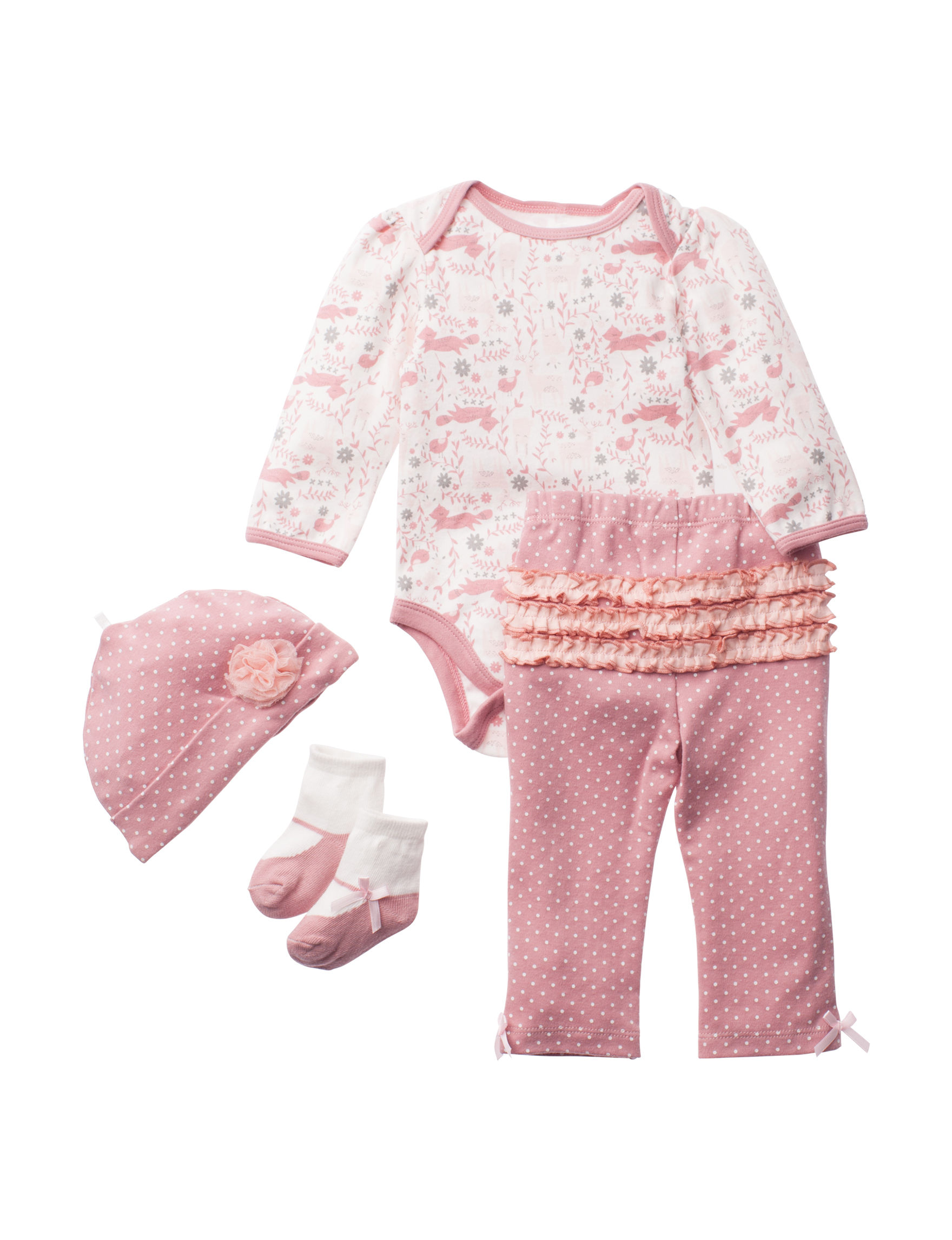 Baby Gear Ivory / Pink