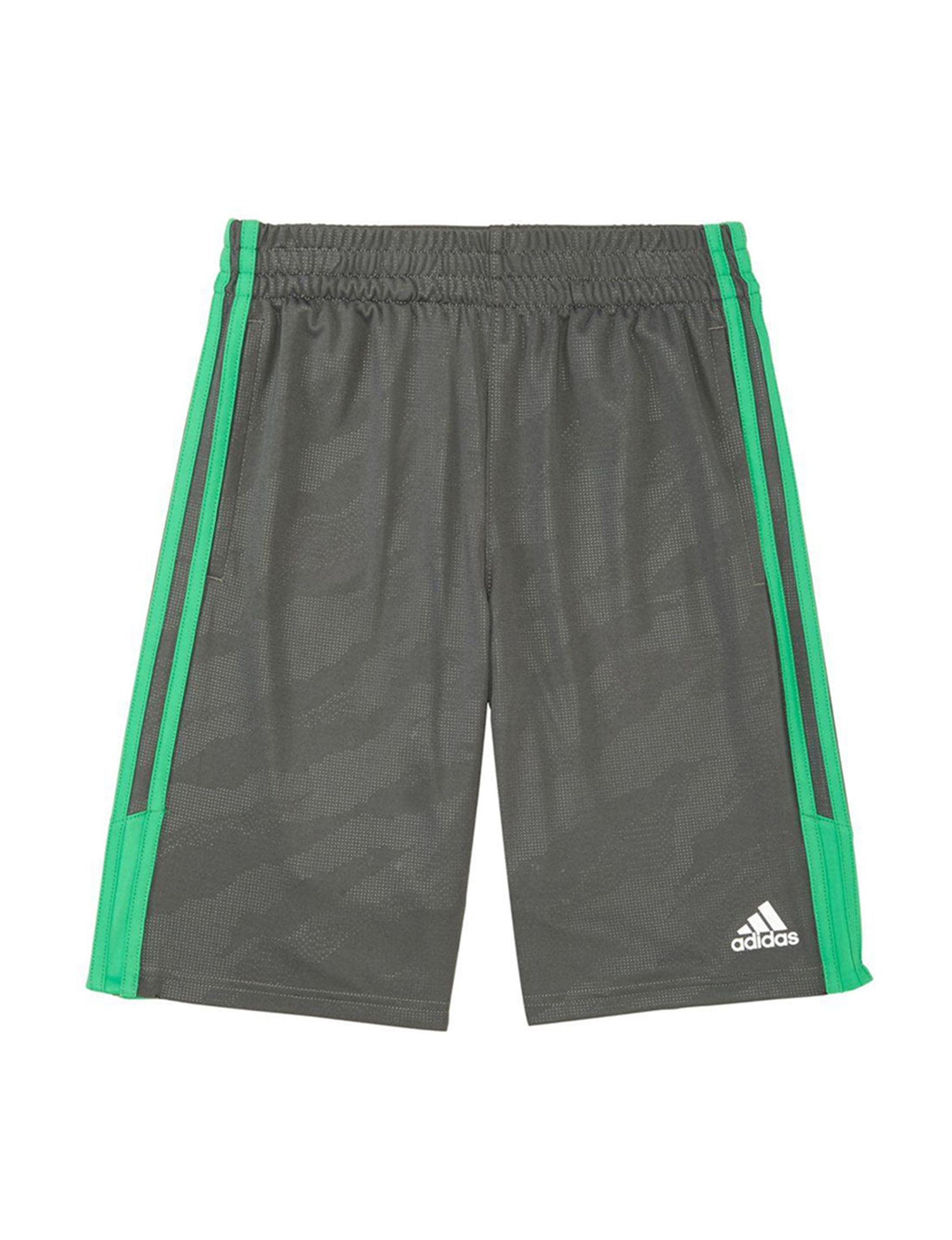 Adidas Dark Grey Soft Shorts