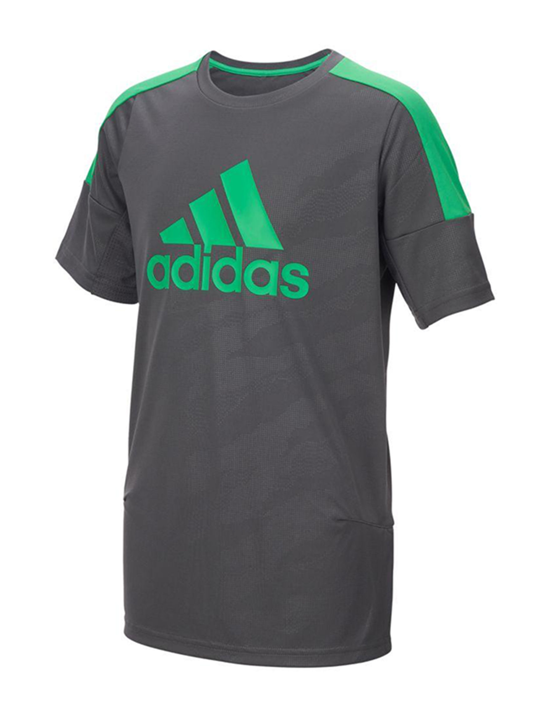 Adidas Dark Grey Tees & Tanks