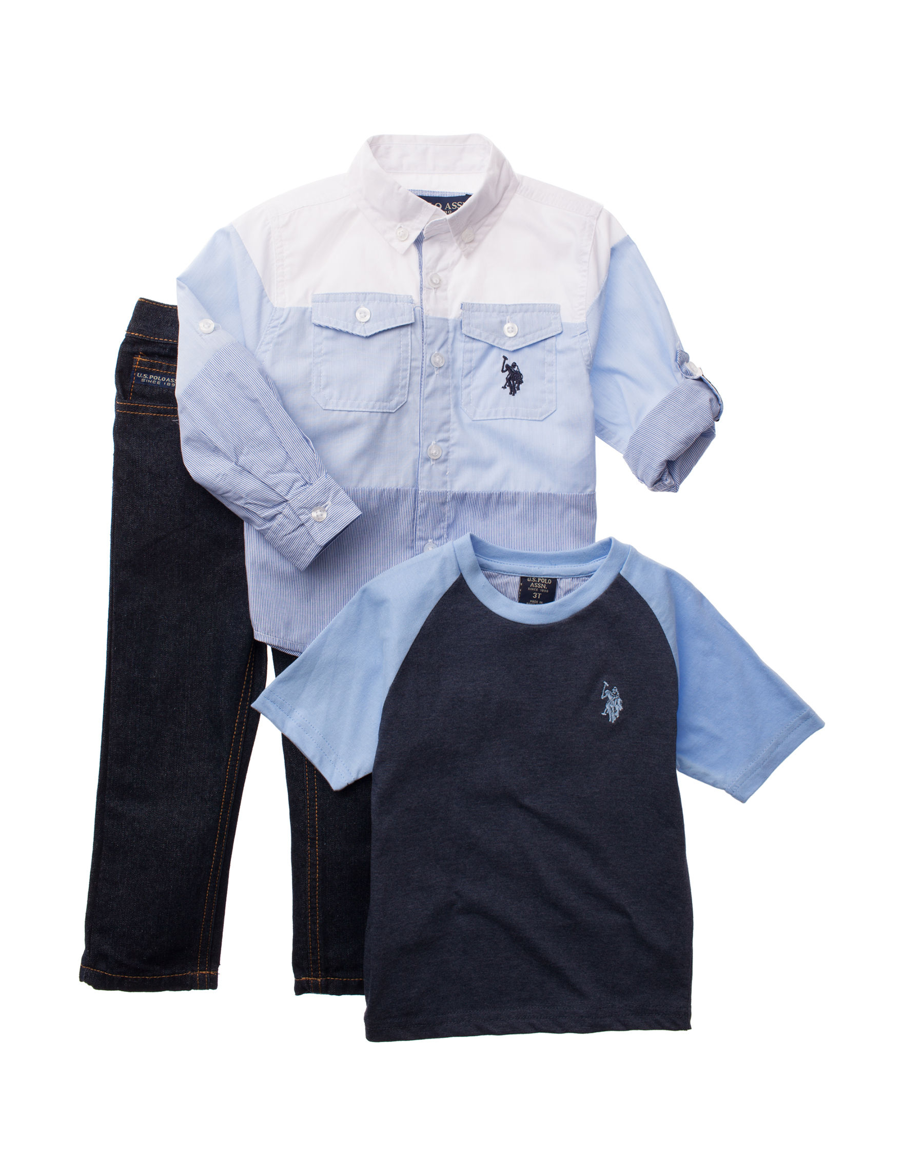 U.S. Polo Assn. Blue Stripe