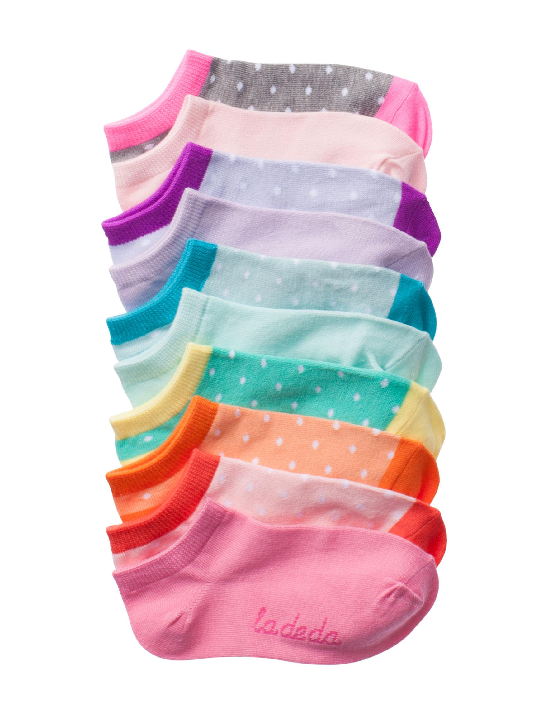 La De Da Multi Color Socks