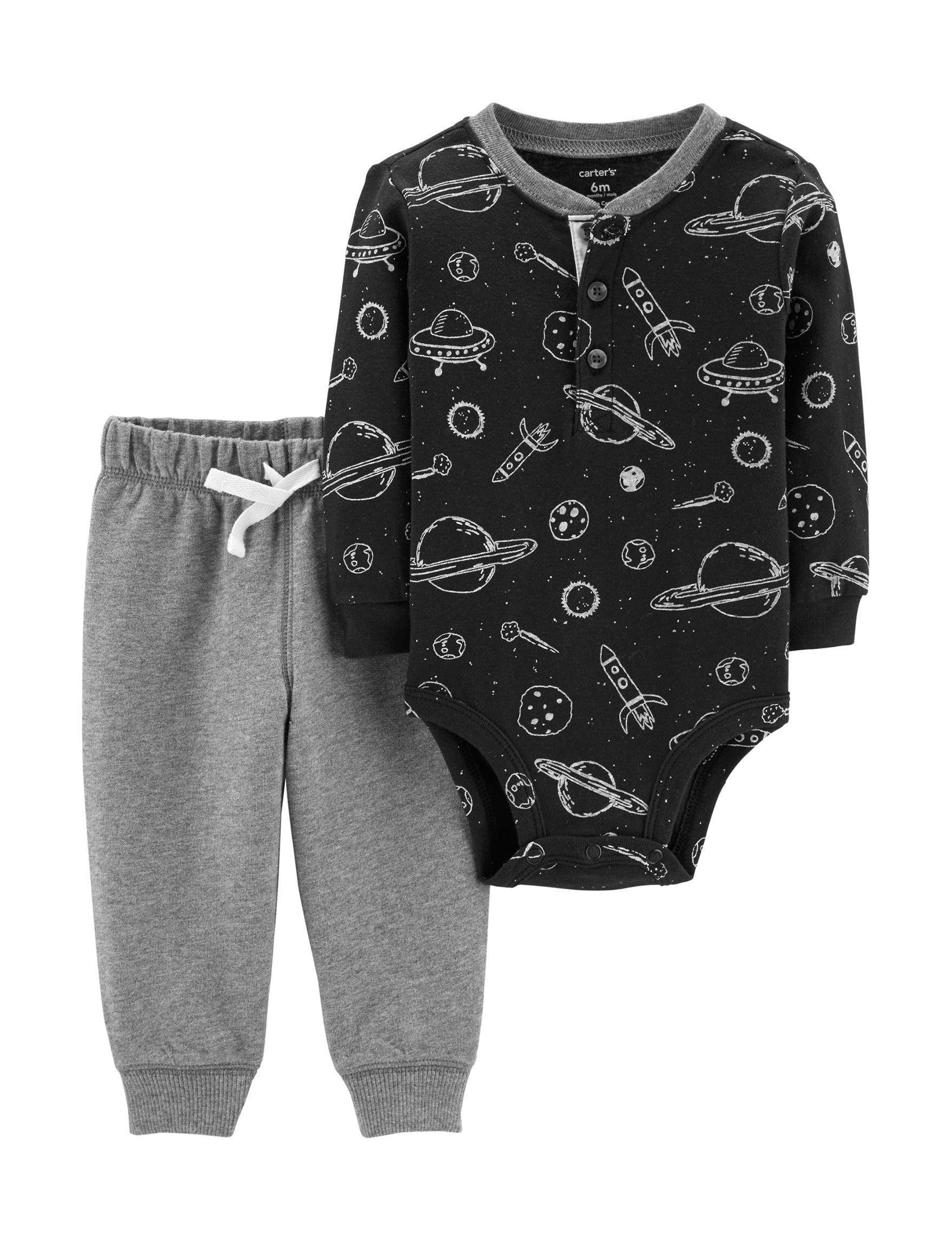 Carter's Black / Grey