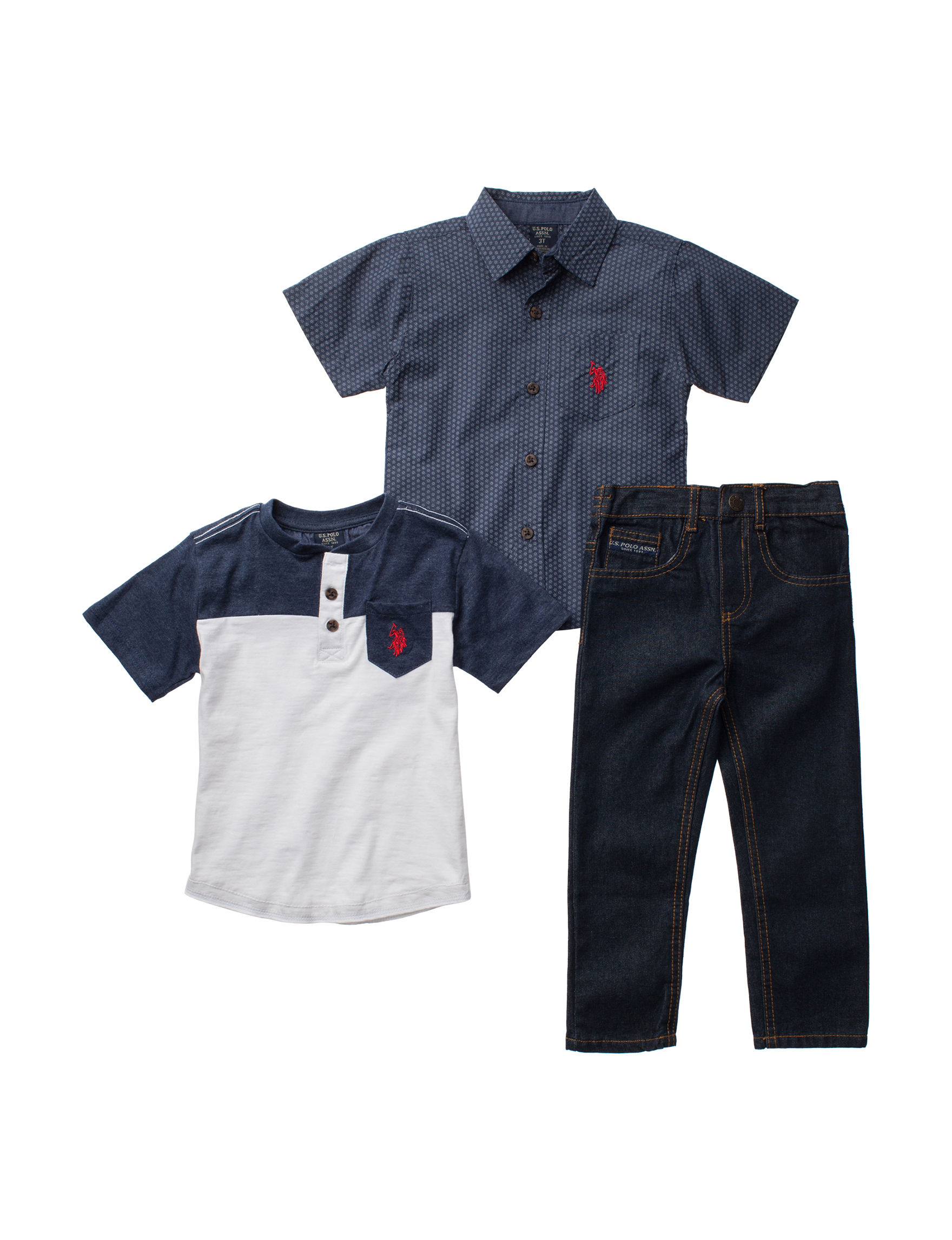U.S. Polo Assn. Denim / Blue Tees & Tanks
