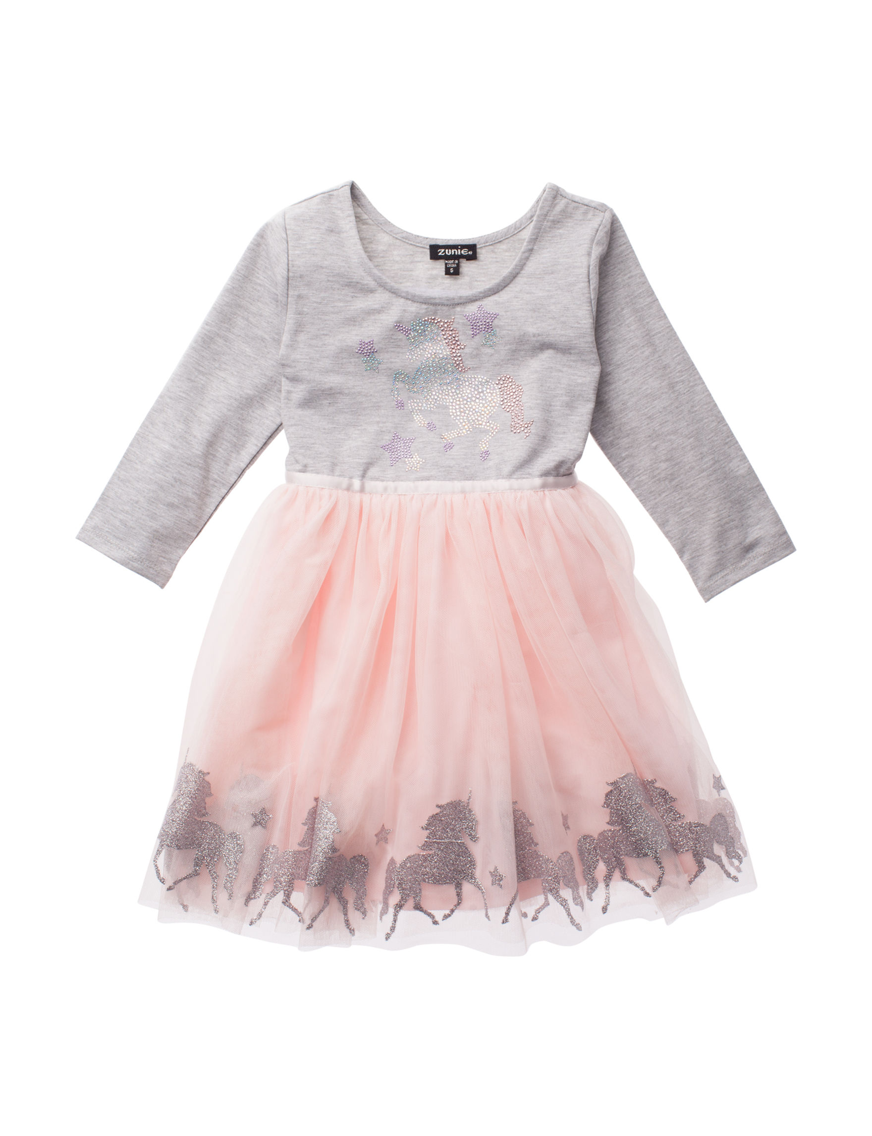 aaa7f24d6 Zunie Unicorn Tulle Dress - Girls 4-6x | Stage Stores
