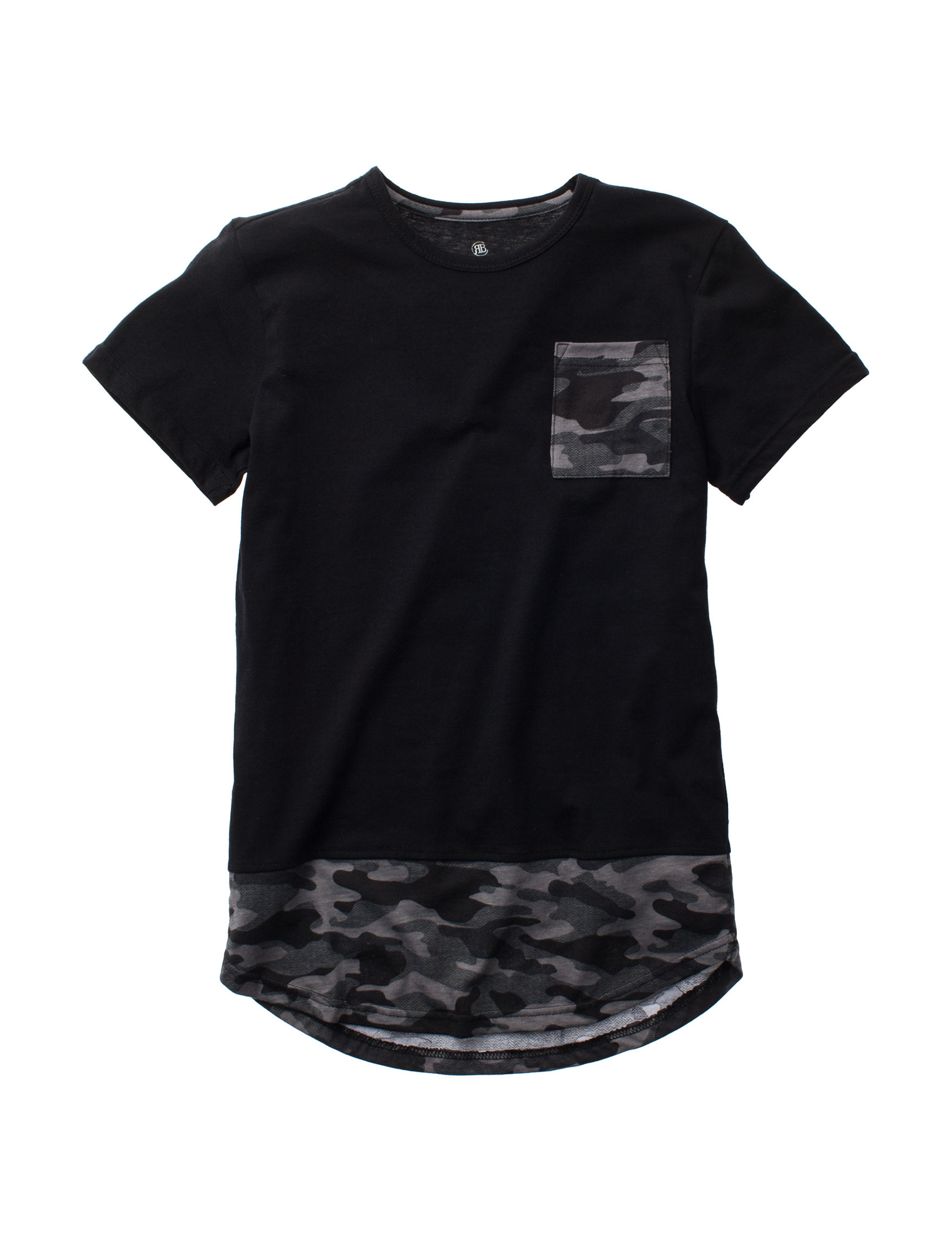 Rustic Blue Black/Camo Tees & Tanks