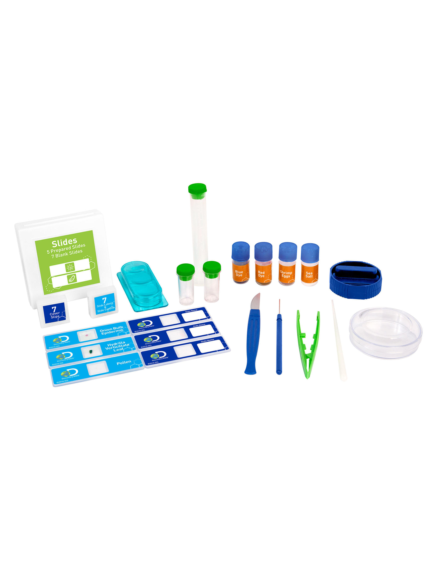 900x Microscope Lab Set