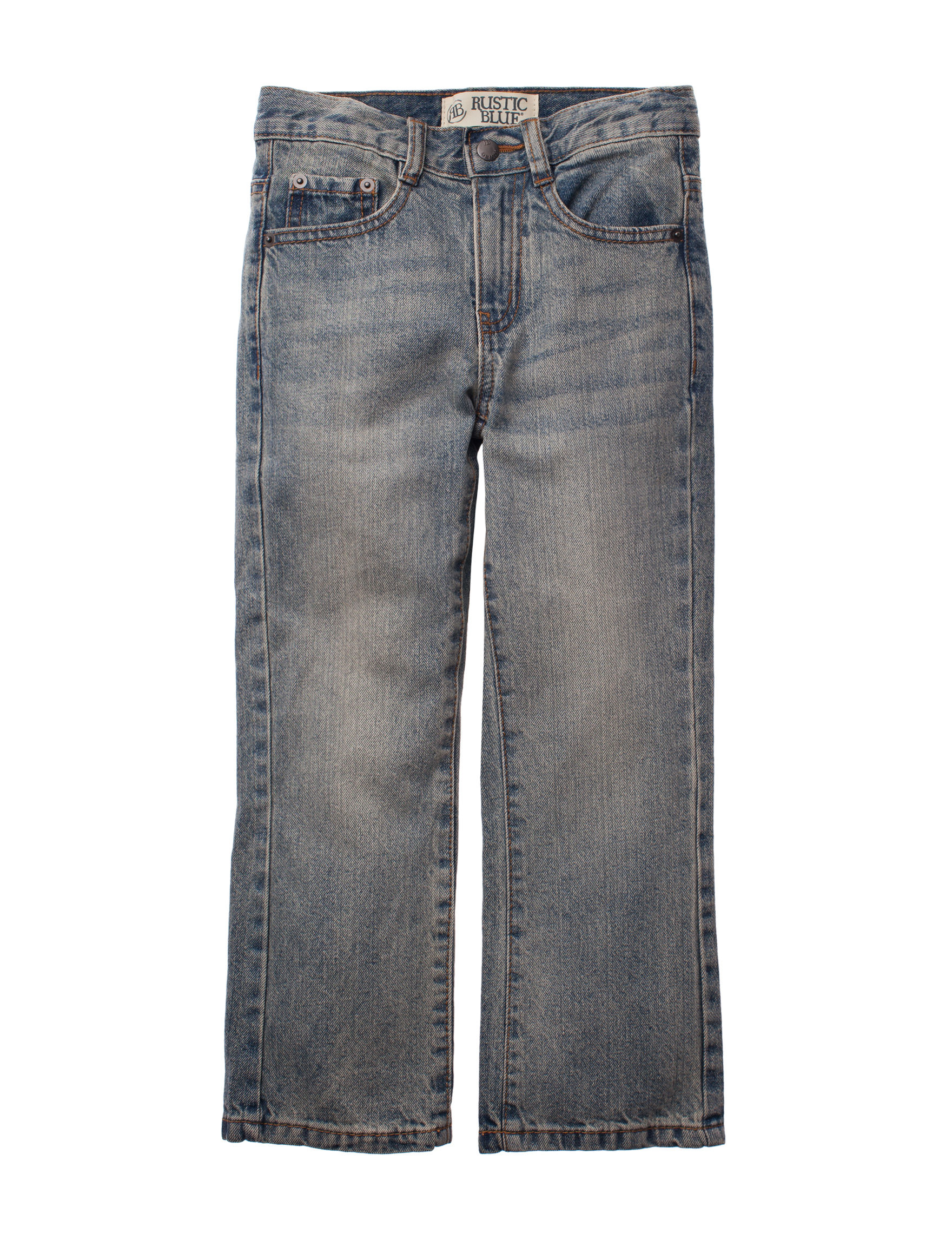 Rustic Blue Light Wash Bootcut