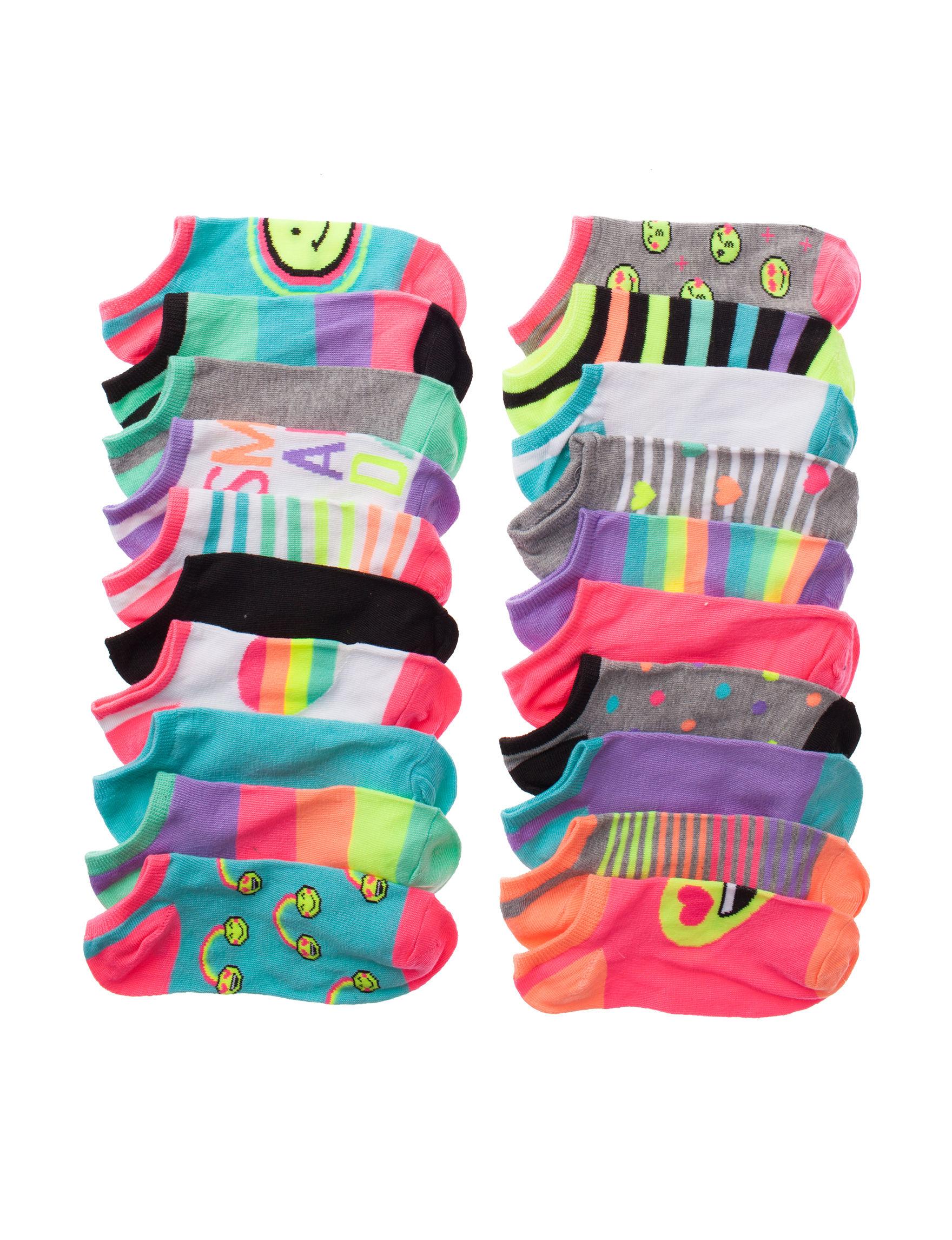 Capelli Hot Pink Socks