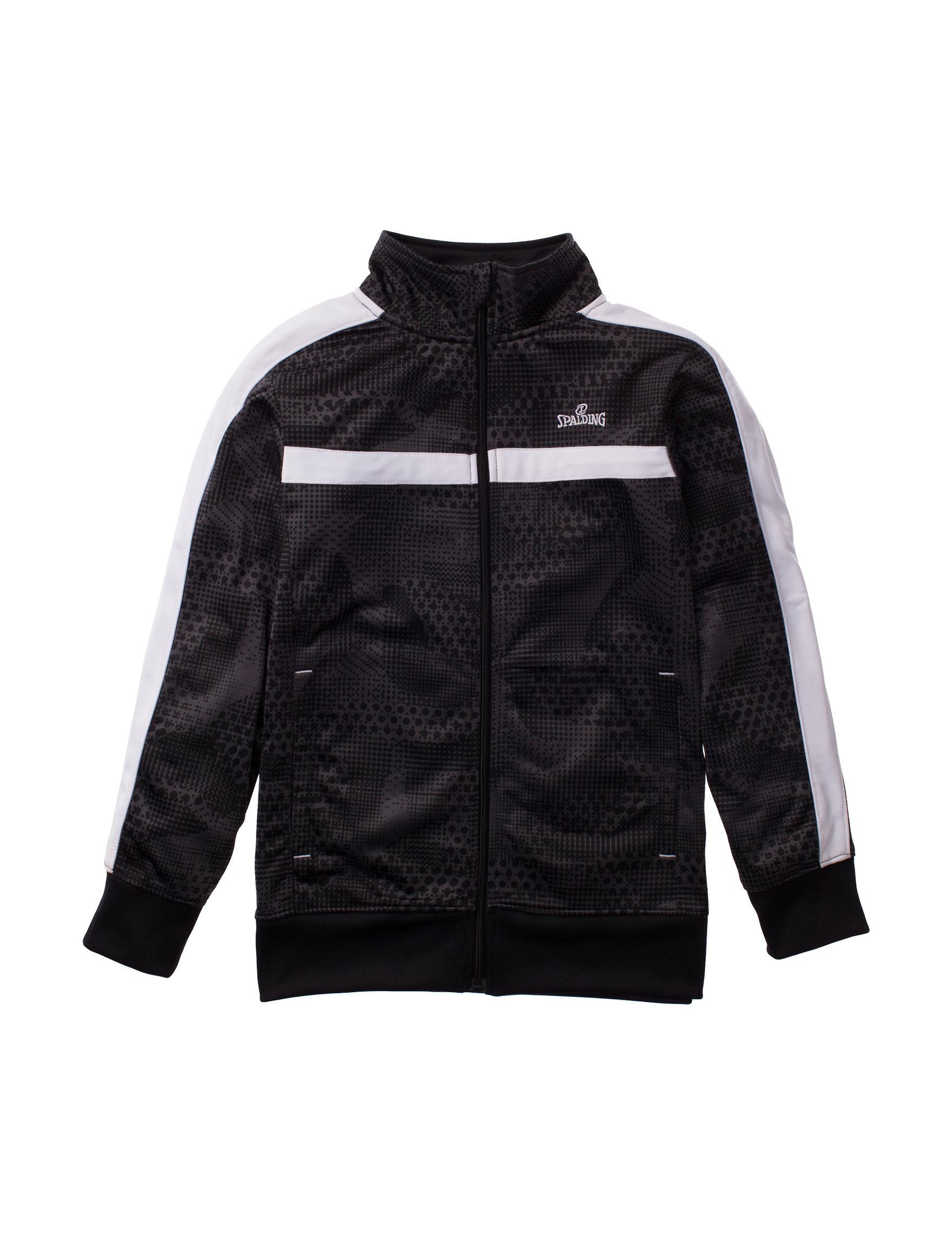 Spalding Black Lightweight Jackets & Blazers