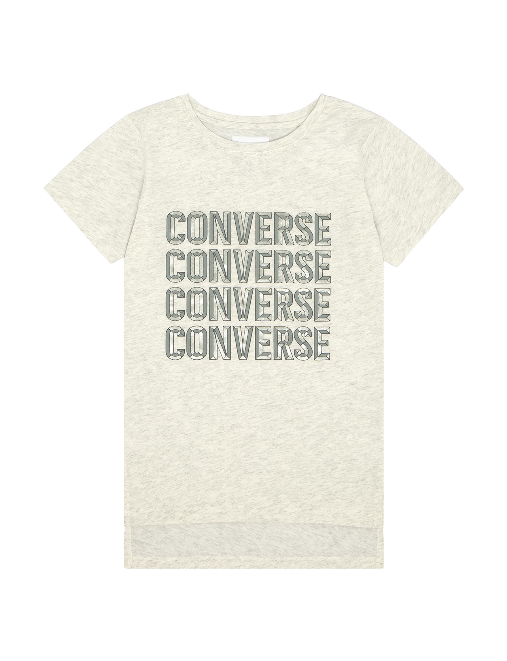 Converse White / Heather Grey Tees & Tanks