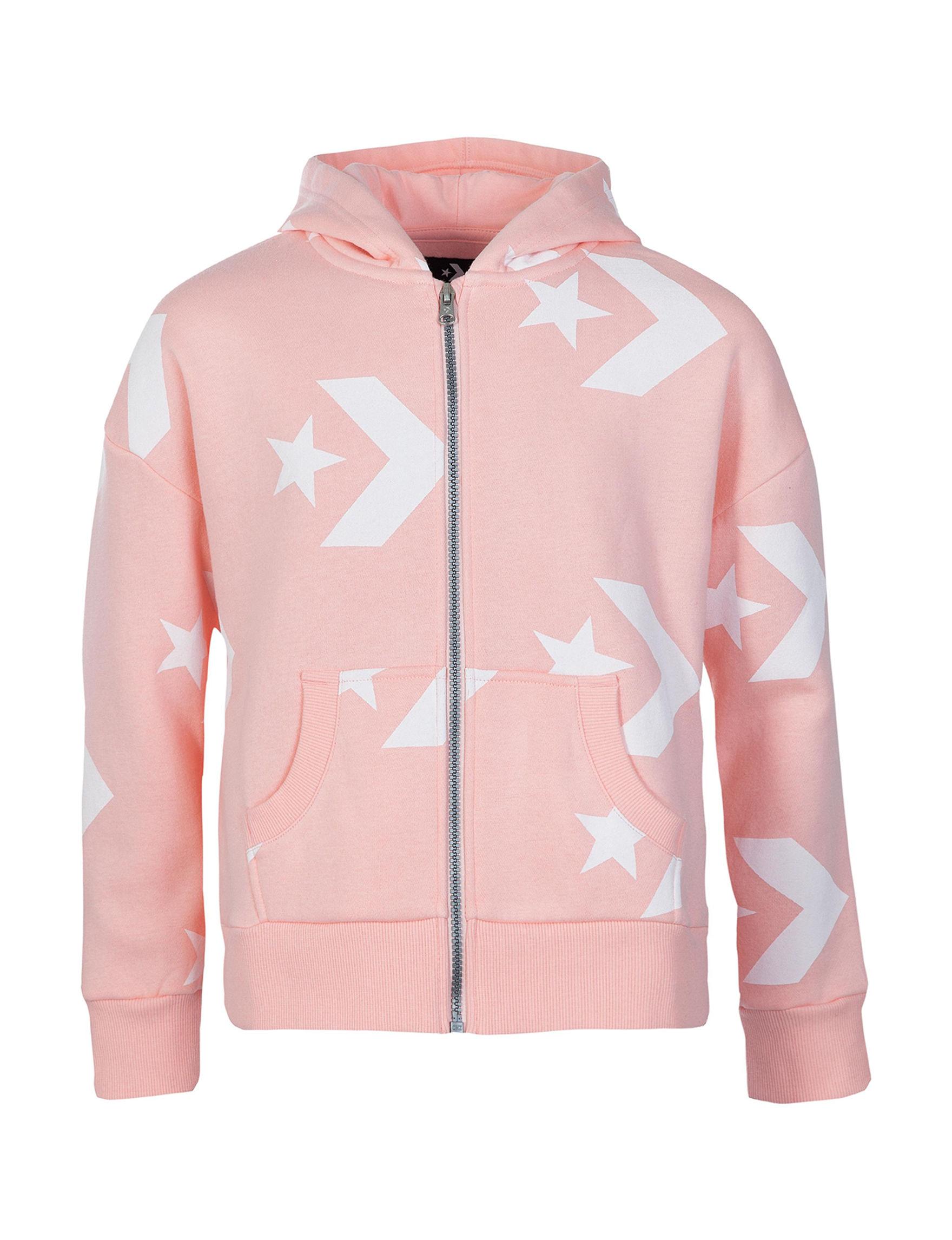Converse Pink / White