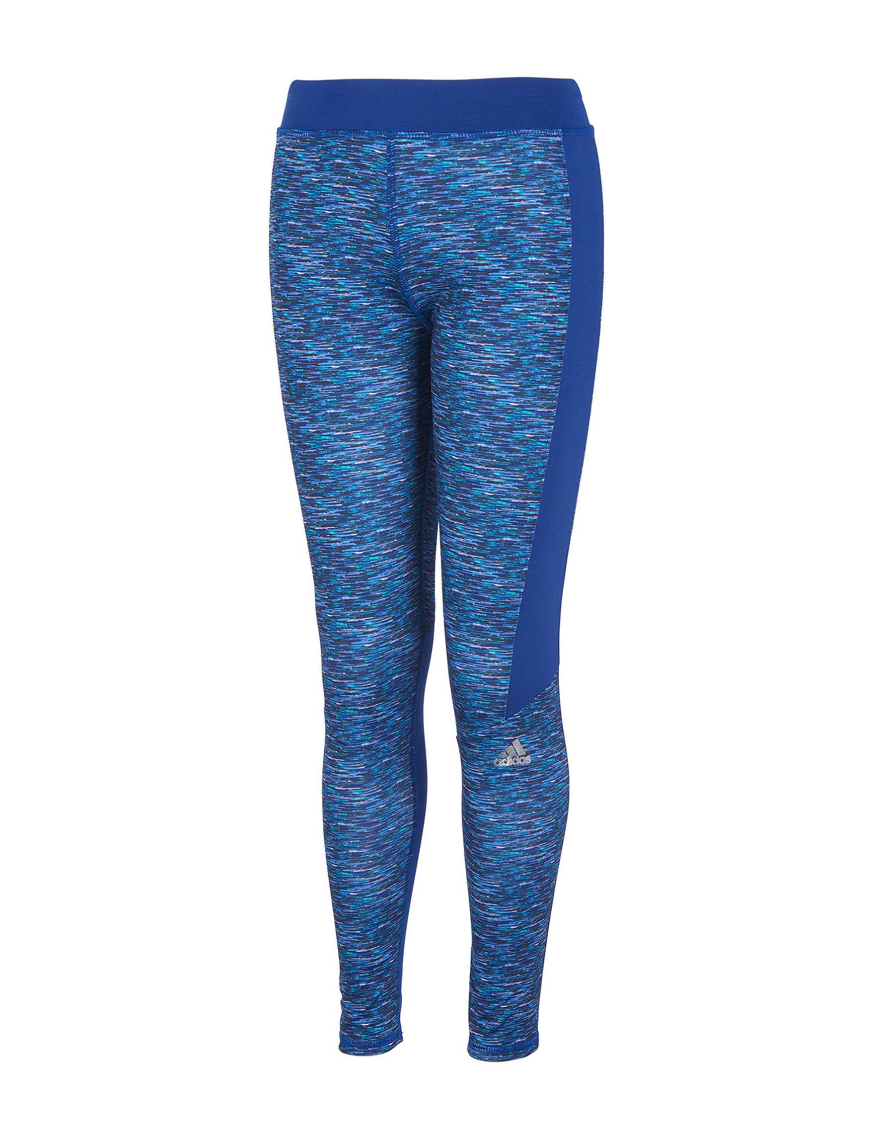 Adidas Blue Multi Leggings