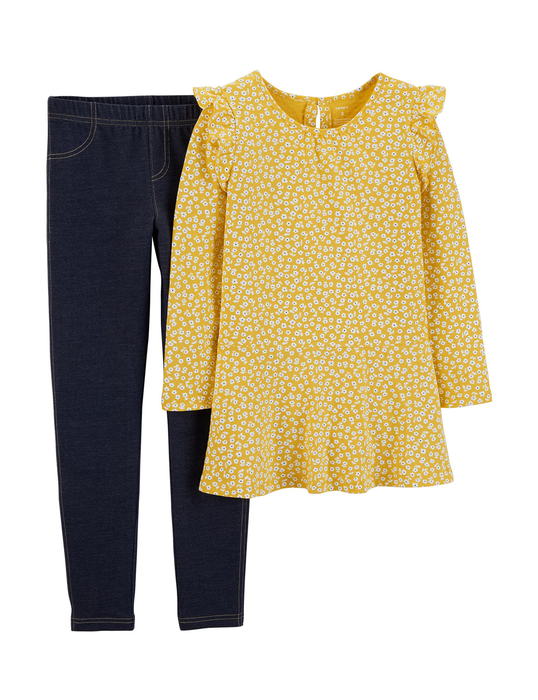 Carter's Yellow Floral