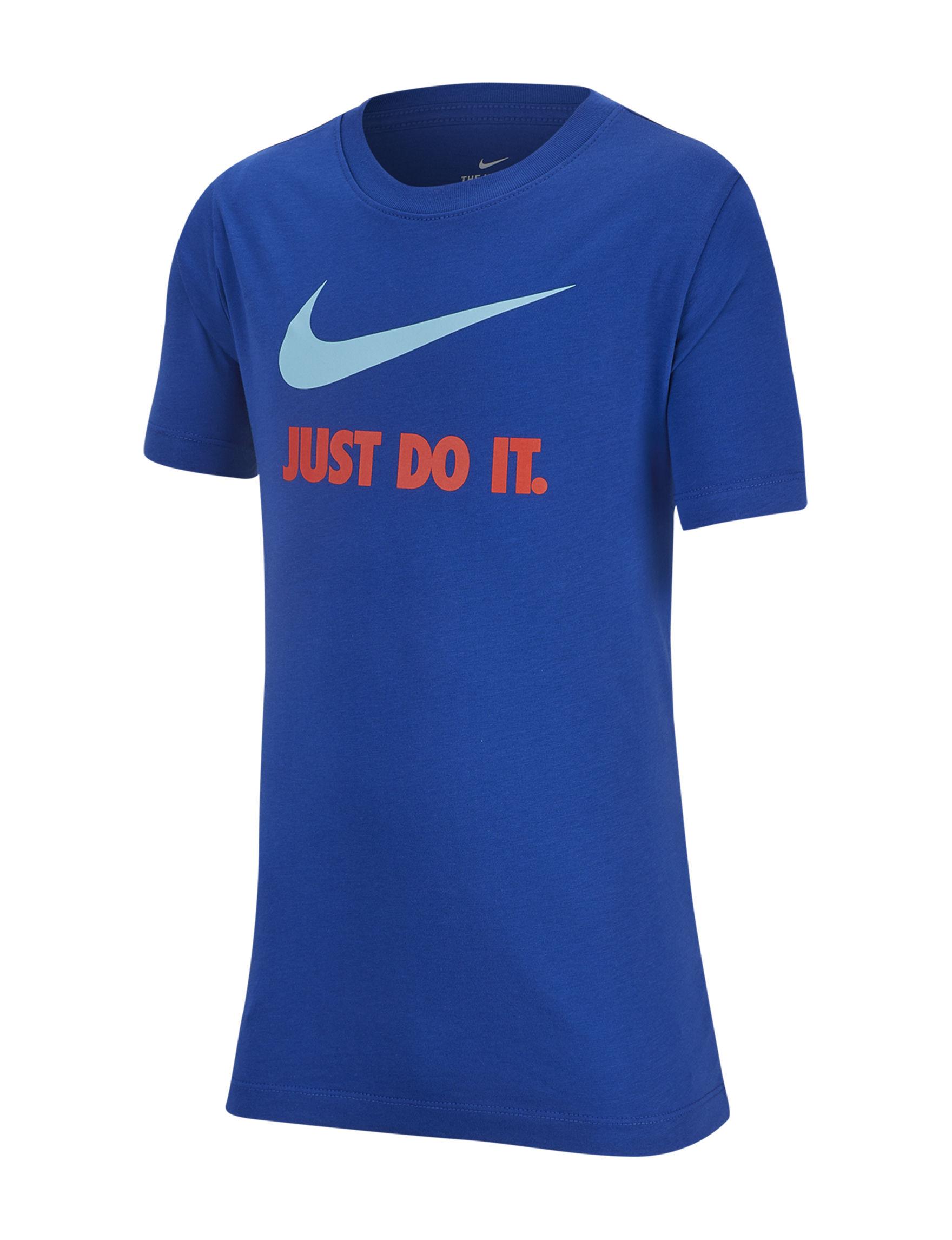 Nike Royal Blue Tees & Tanks