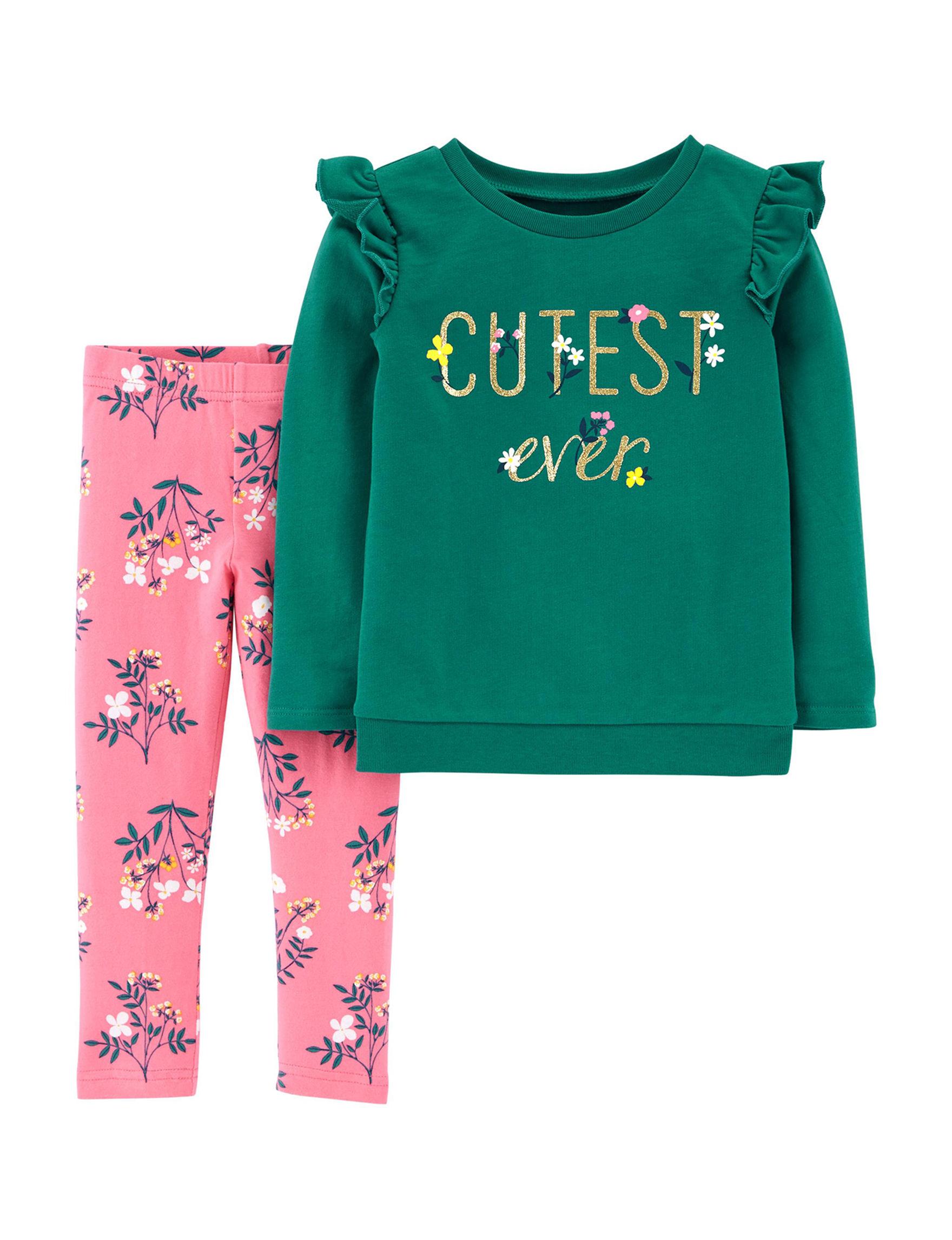 Carter's Green / Pink