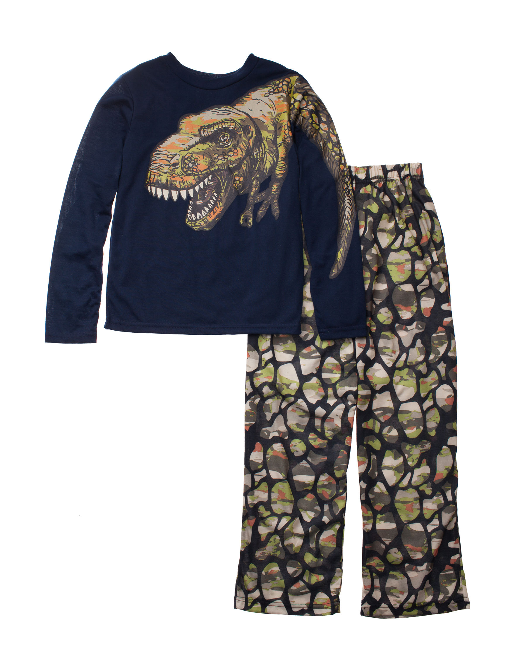 Komar Kids Navy / Green Pajama Sets