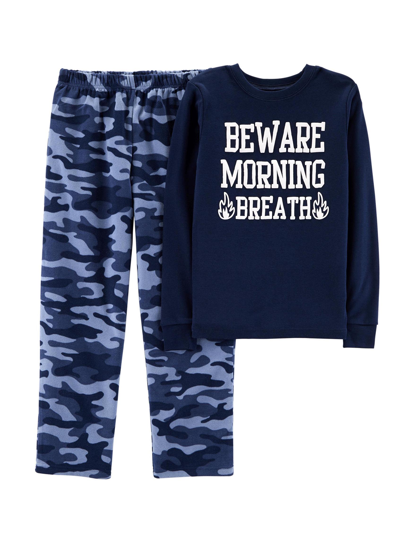 Carter's Navy / Blue Pajama Sets
