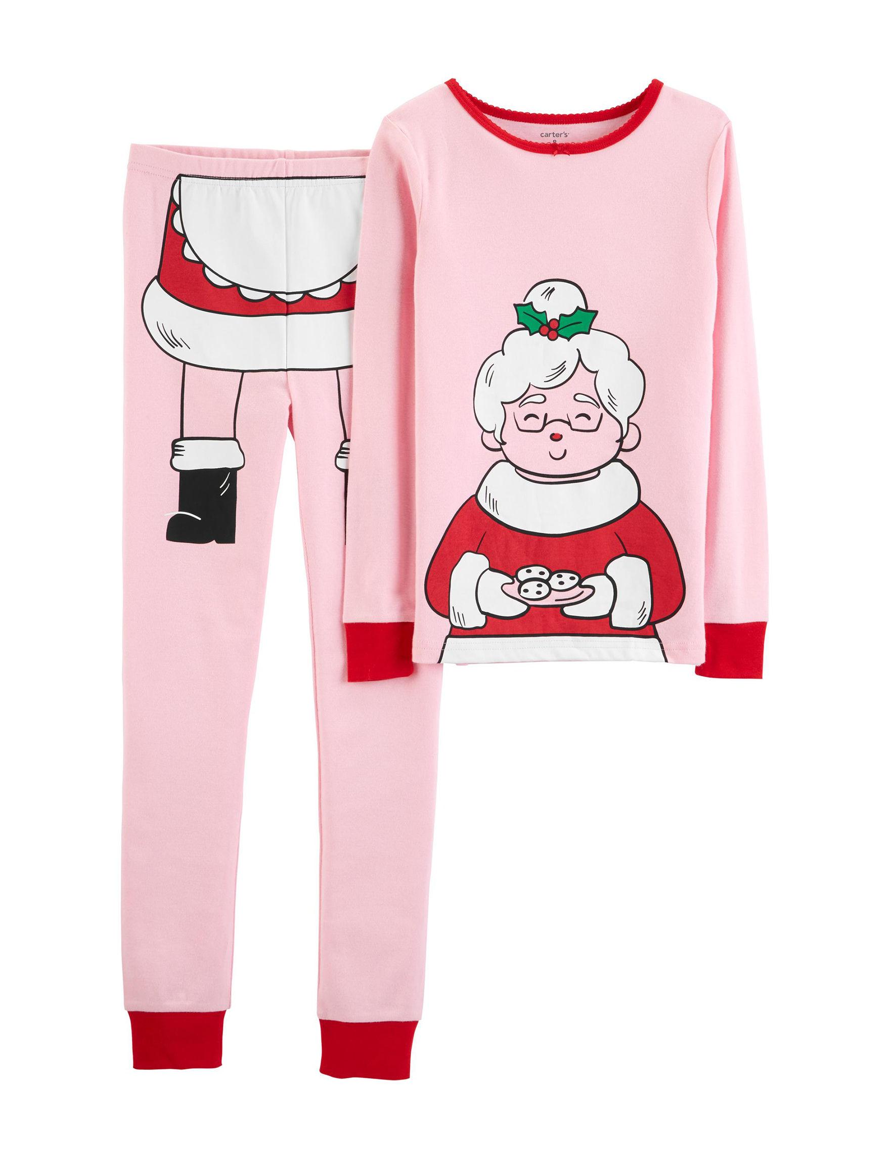 Carter's Pink Pajama Sets