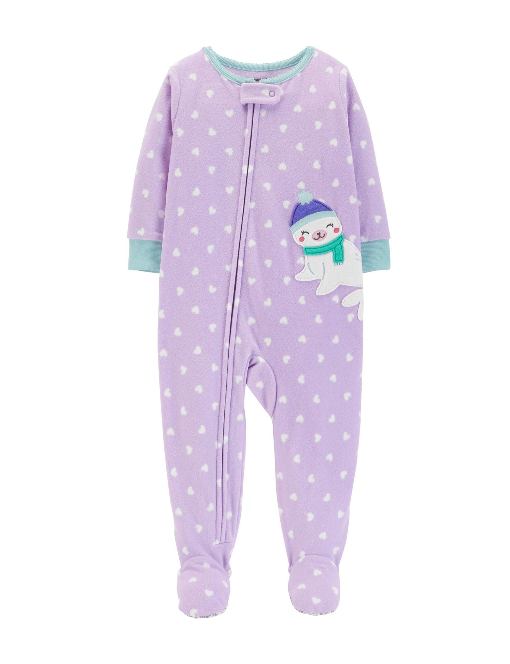 Carter's Purple Pajama Sets