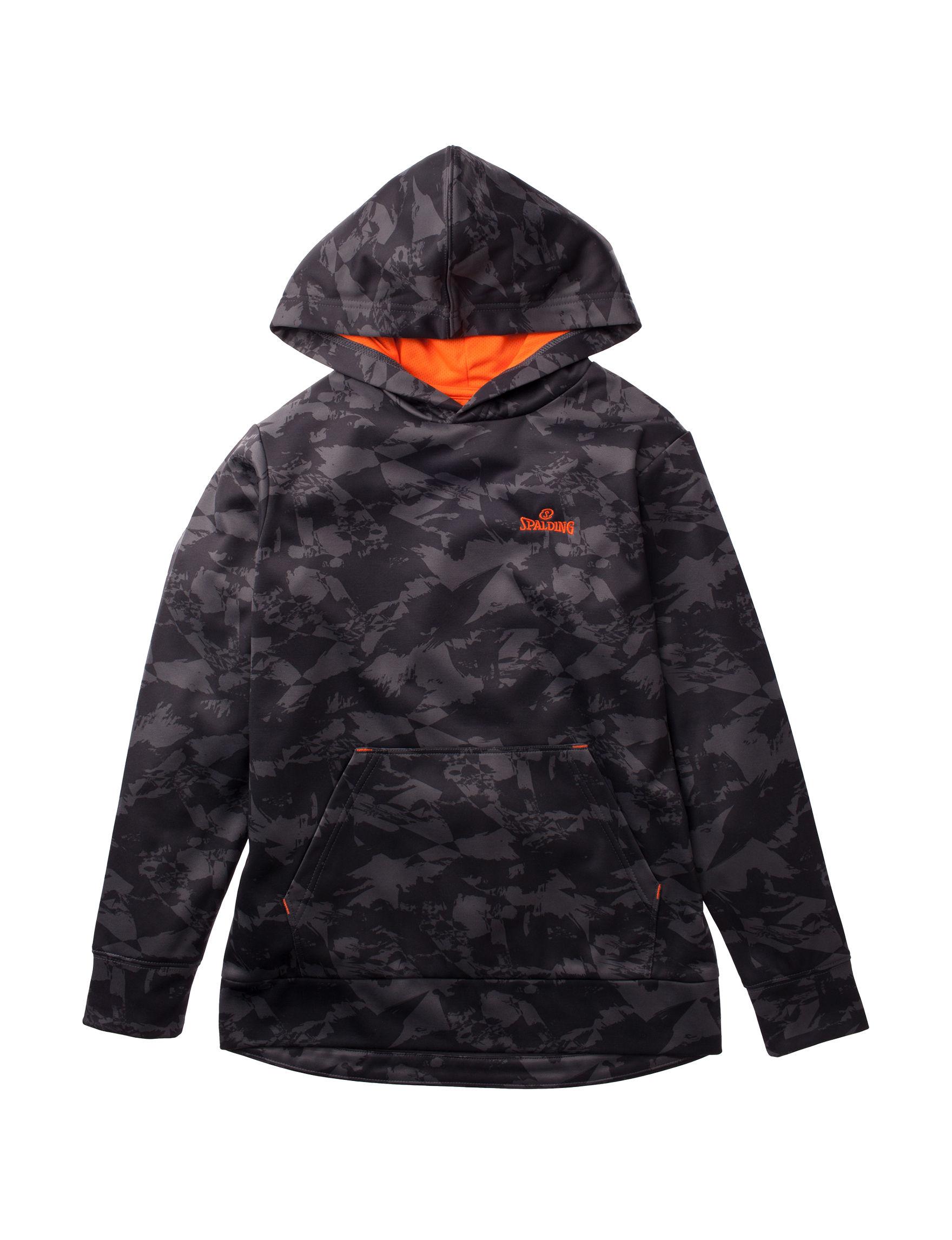Spalding Grey / Orange