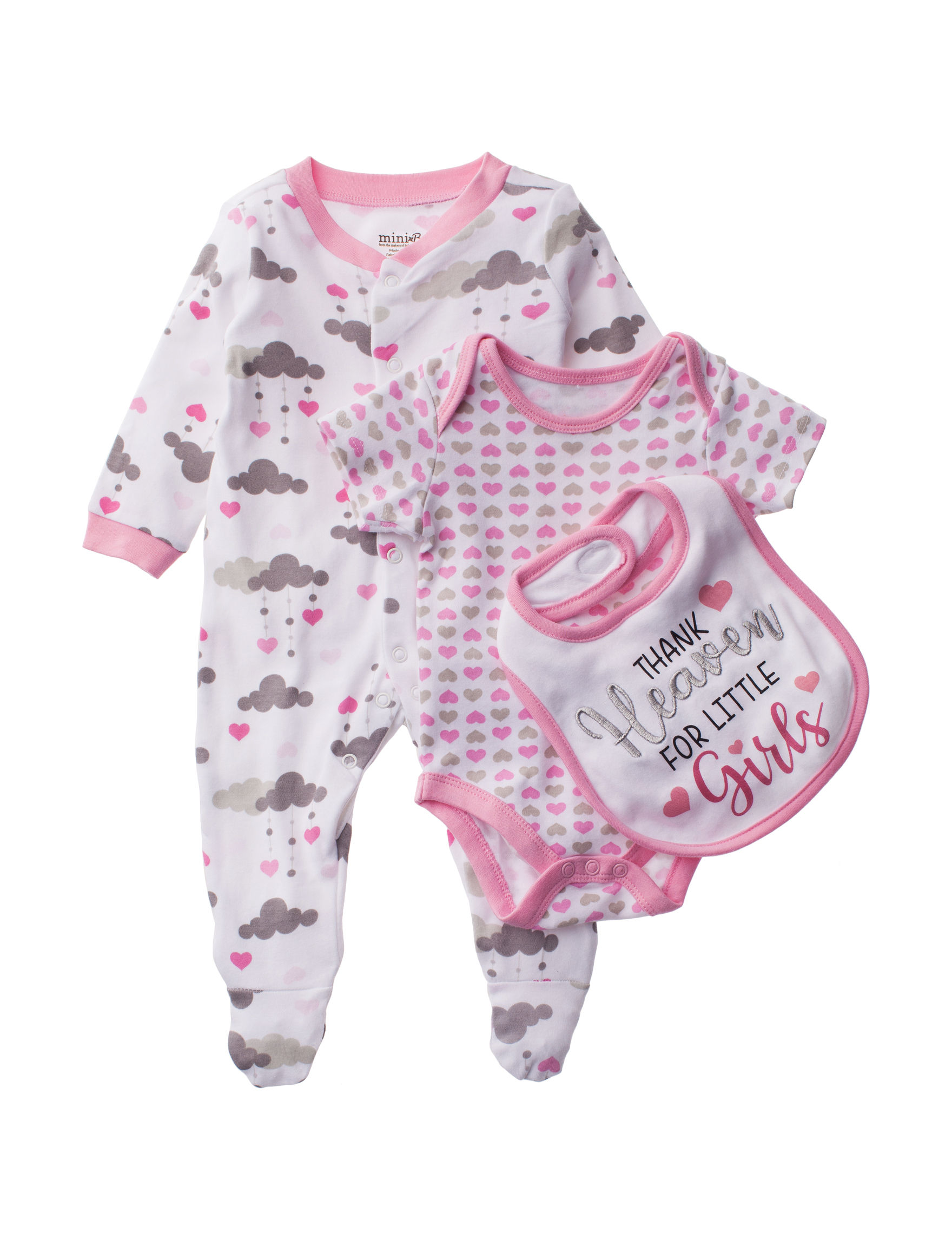 Baby Starters White / Pink